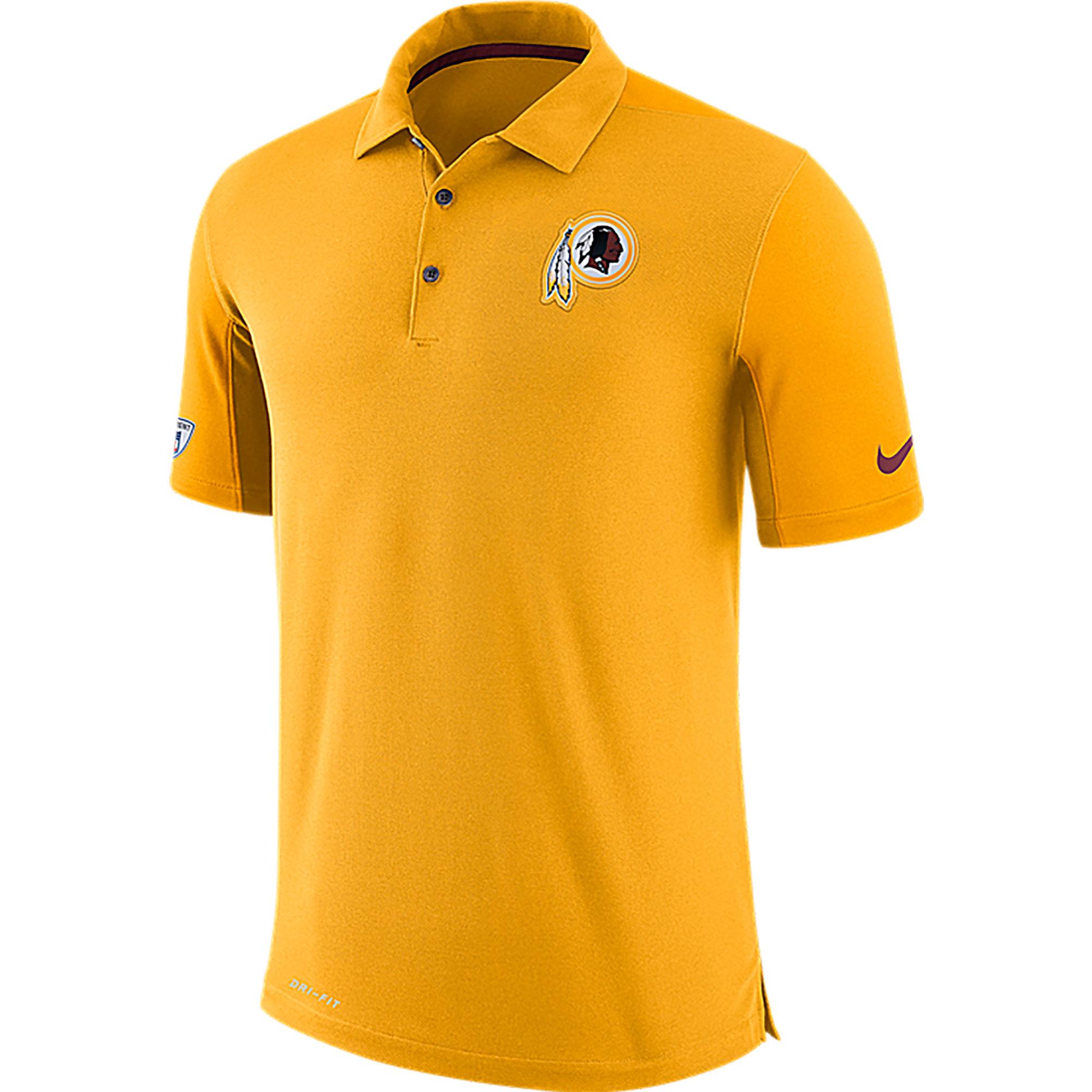 Nike Washington Redskins Sideline Team Issue Dri-FIT Poloshirt