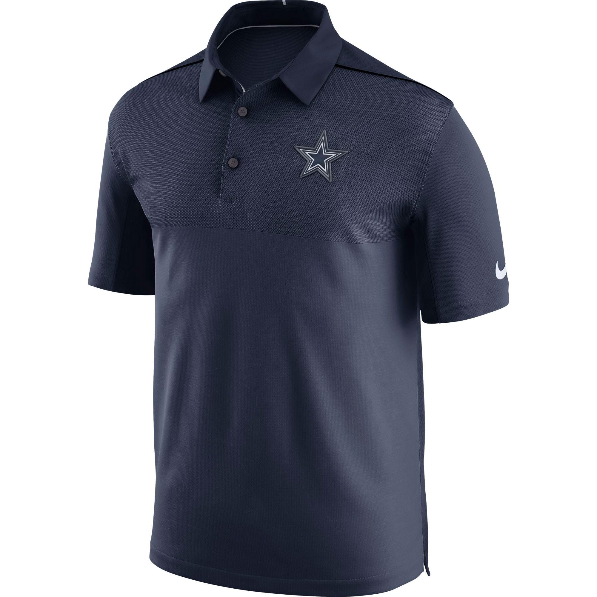 Dallas Cowboys Elite Coaches Poloshirt – Herren