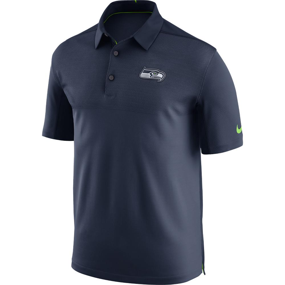Seattle Seahawks Elite Coaches Poloshirt – Herren