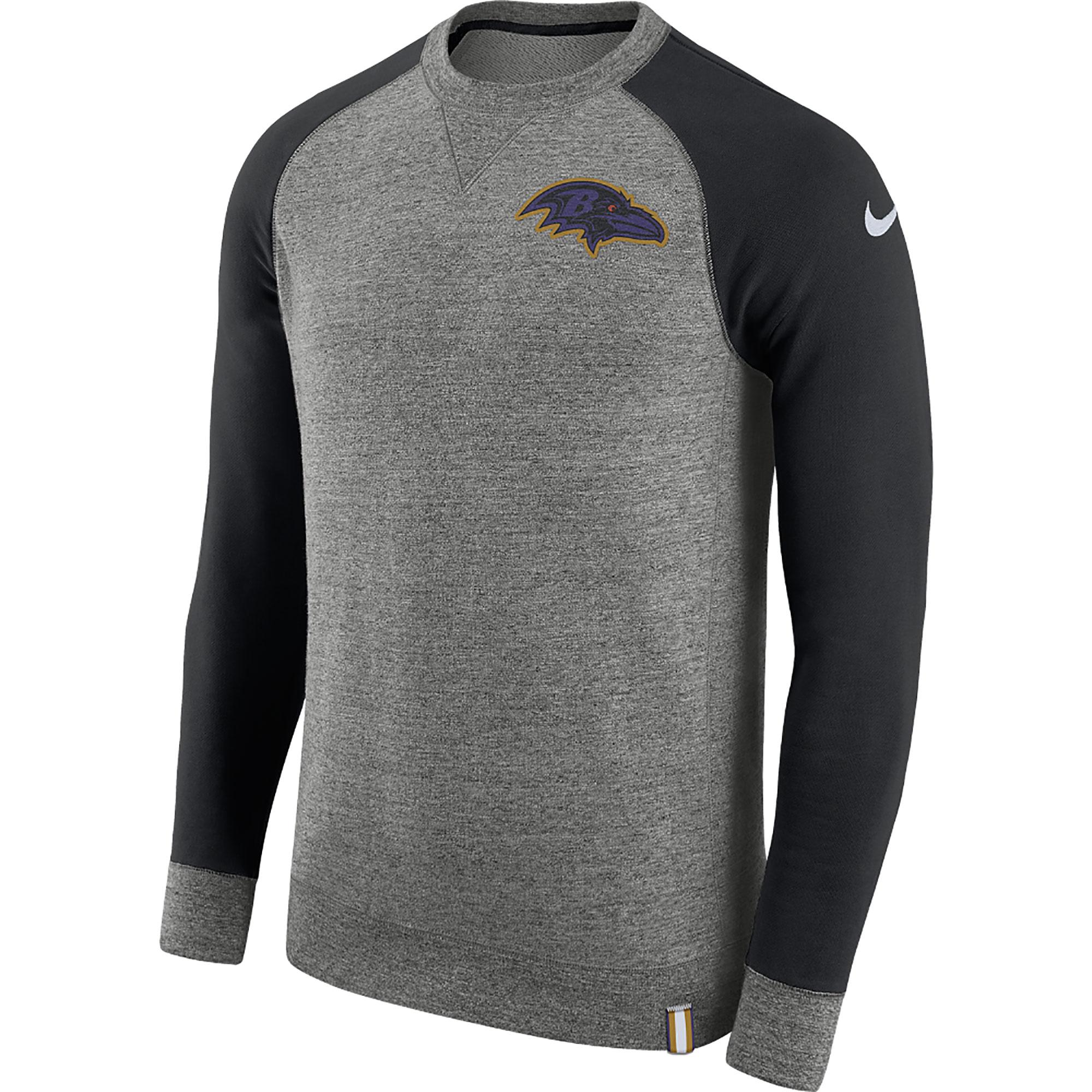 Baltimore Ravens AW77 Rundhalsoberteil – Herren