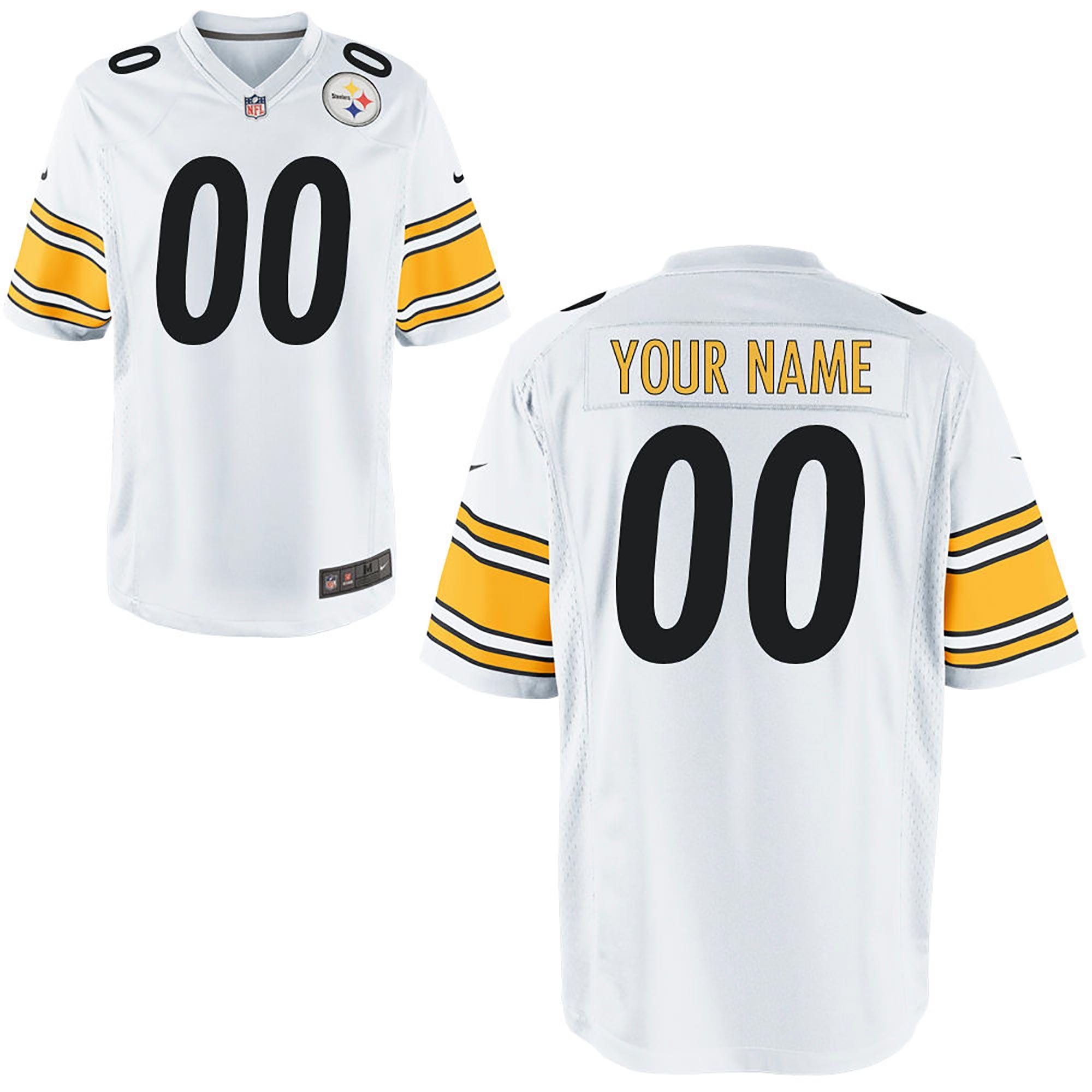 Pittsburgh Steelers Auswärtstrikot – personalisierbar – Herren