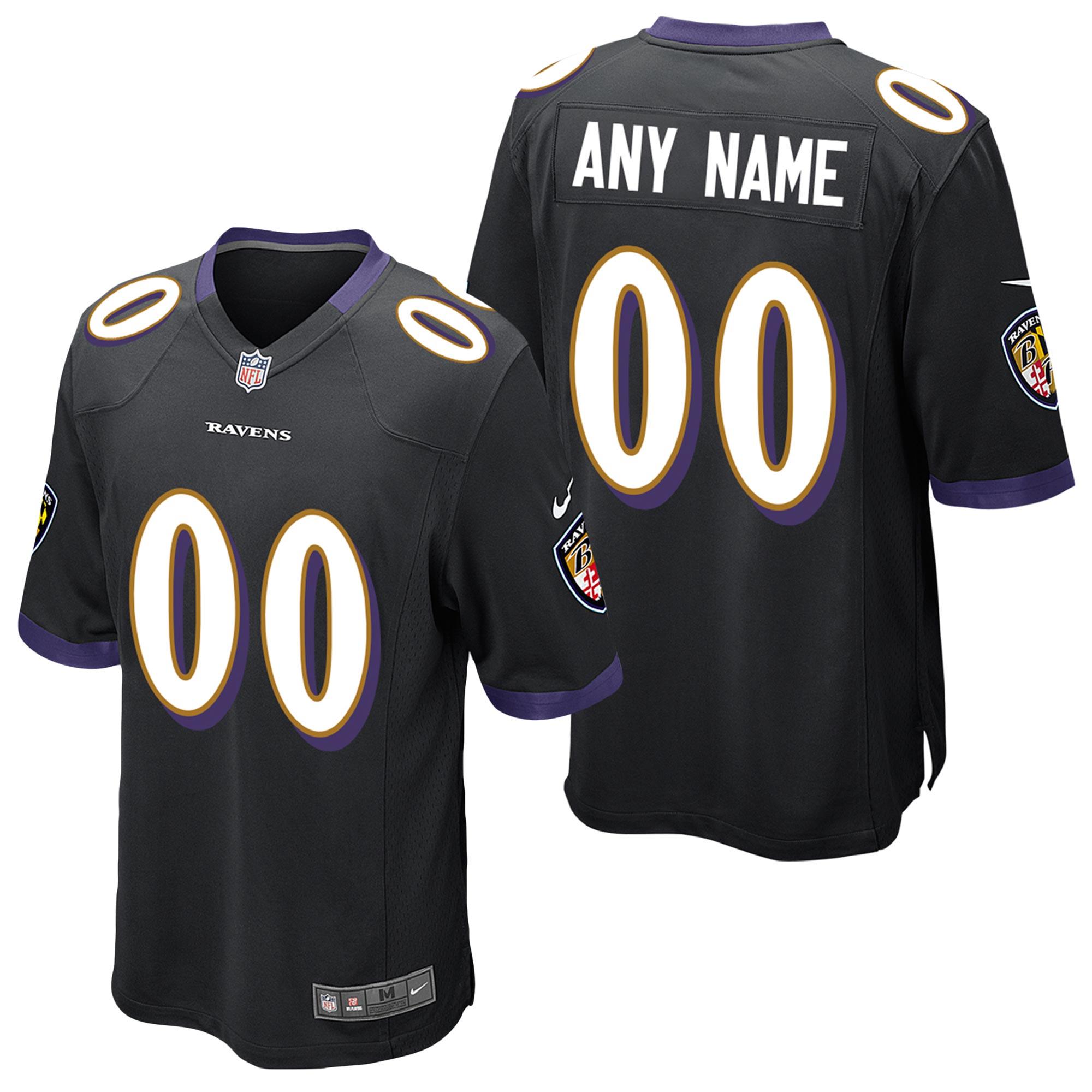 Baltimore Ravens Ausweichtrikot - maßgeschneidert - Jugendliche