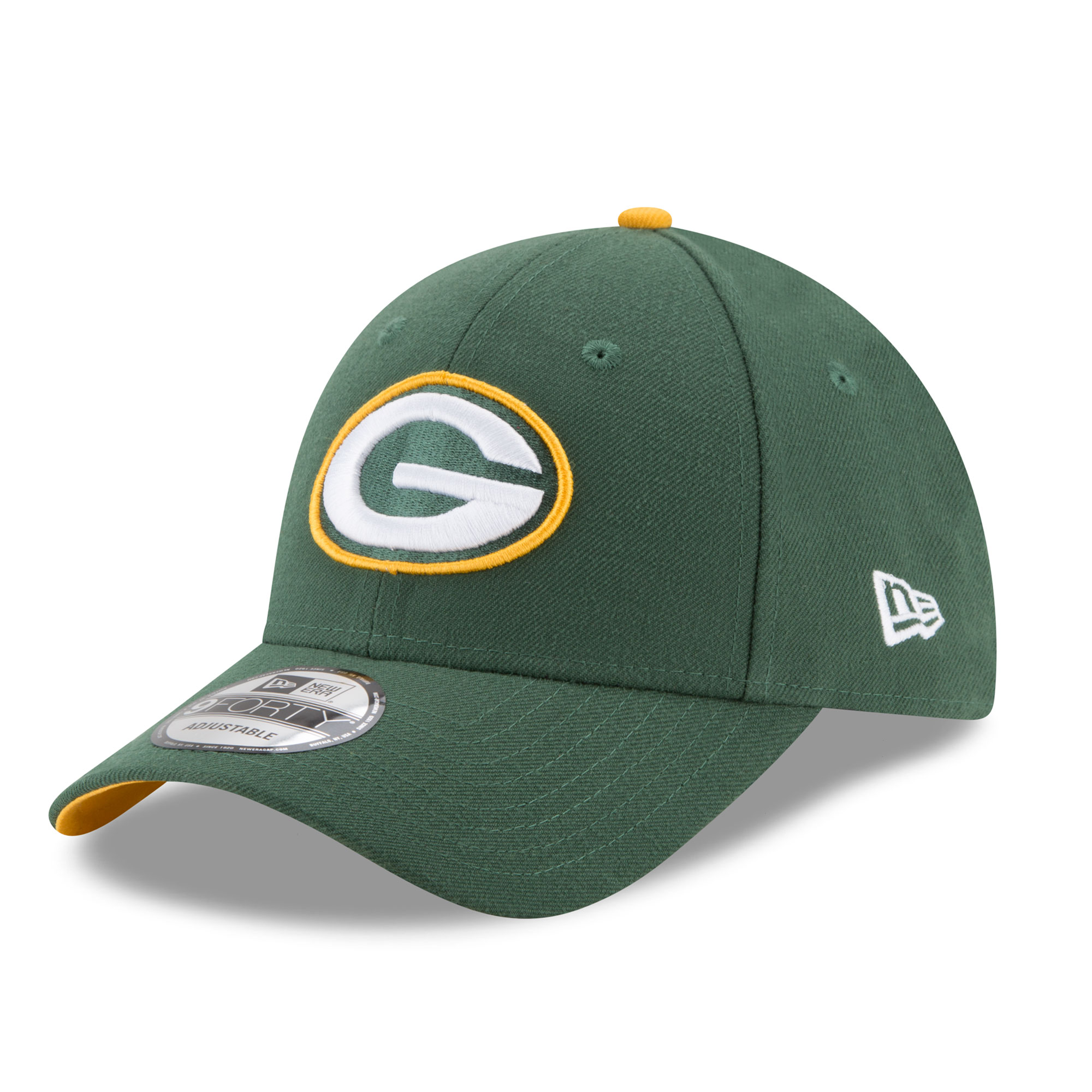 Green Bay Packers New Era 9FORTY Kappe