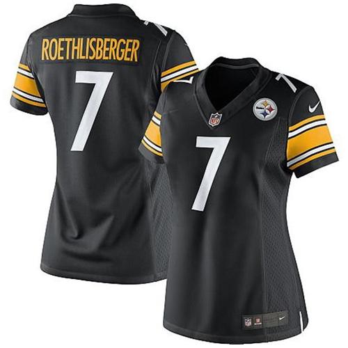 Pittsburgh Steelers Replica-Trikot für Heimspiele – Ben Roethlisberger – Damen