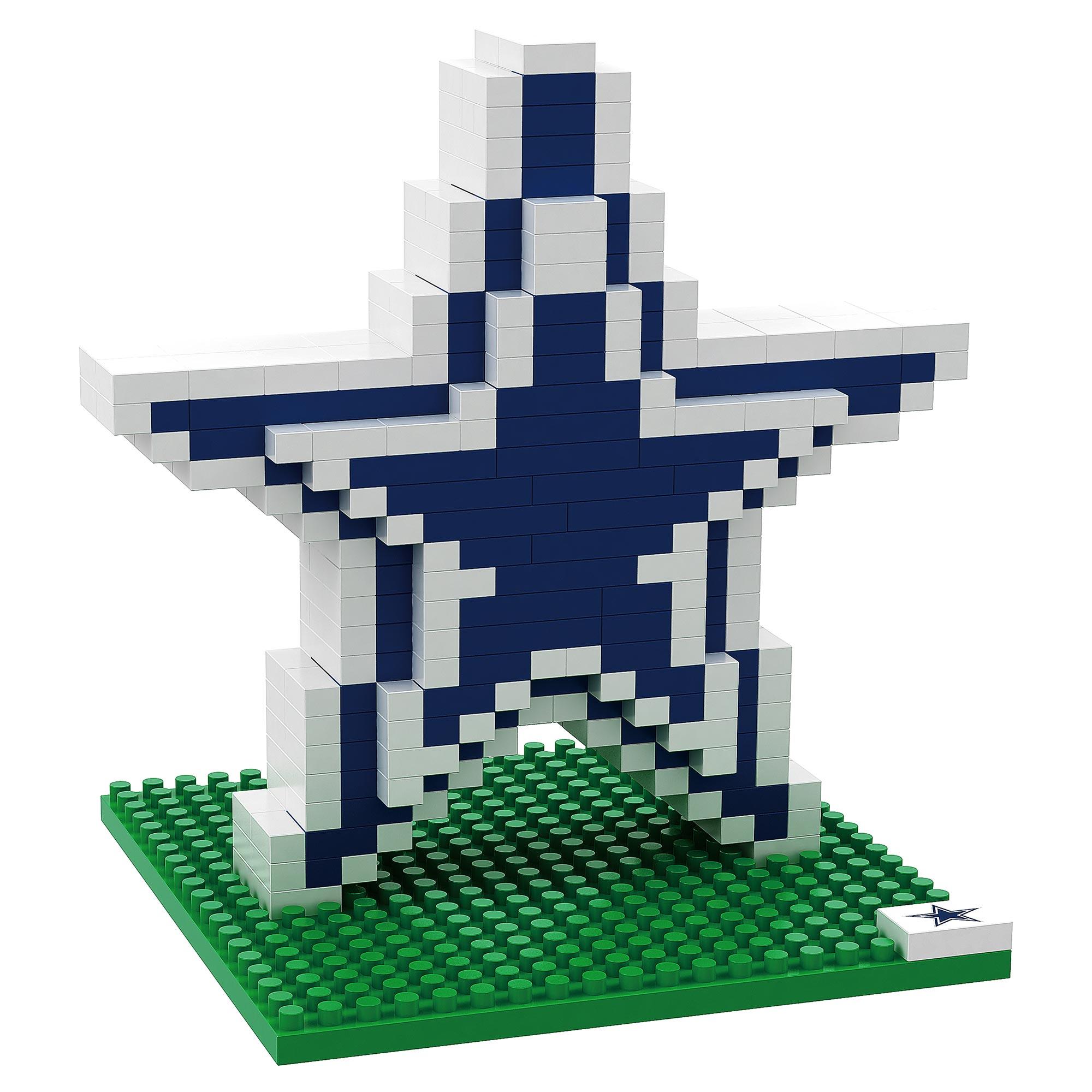 Dallas Cowboys 3D BRXLZ Logo Bausatz