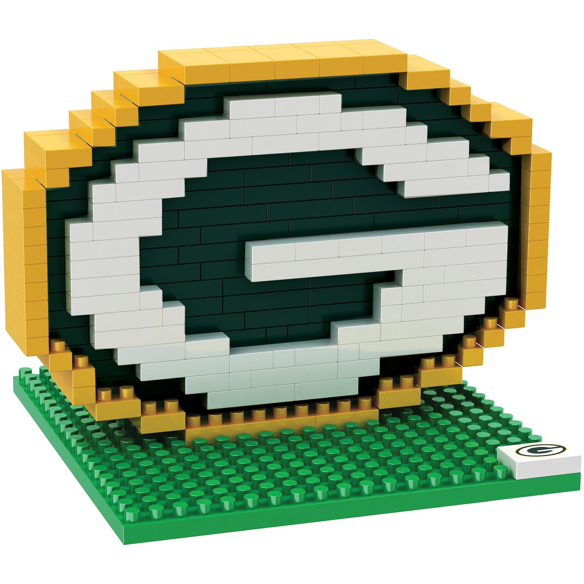Green Bay Packers 3D BRXLZ Logo Bausatz
