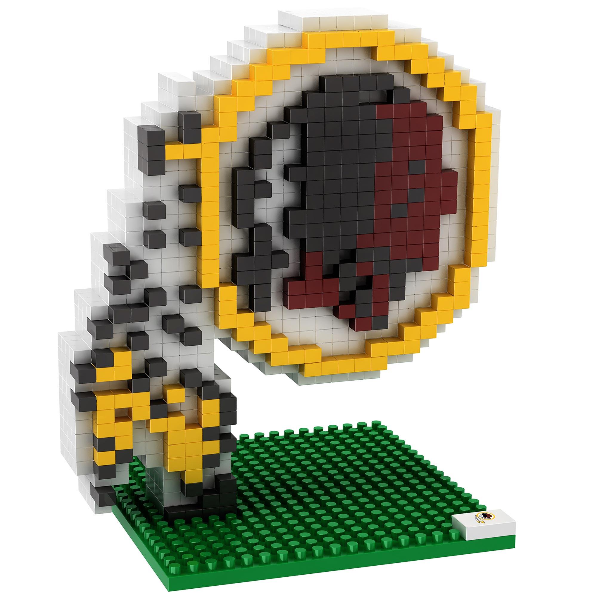 Washington Redskins 3D BRXLZ Logo Bausatz