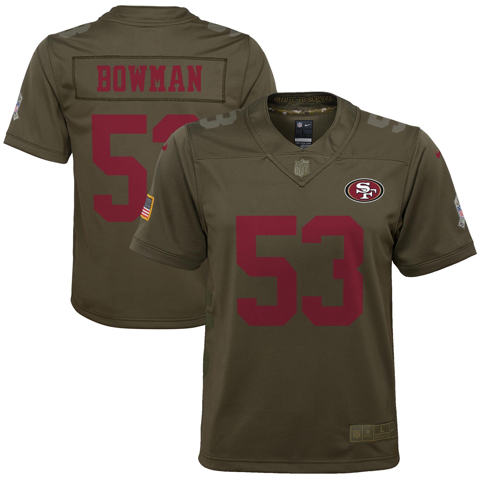 San Francisco 49ers Salute to Service Trikot – NaVorro Bowman – Jugendliche