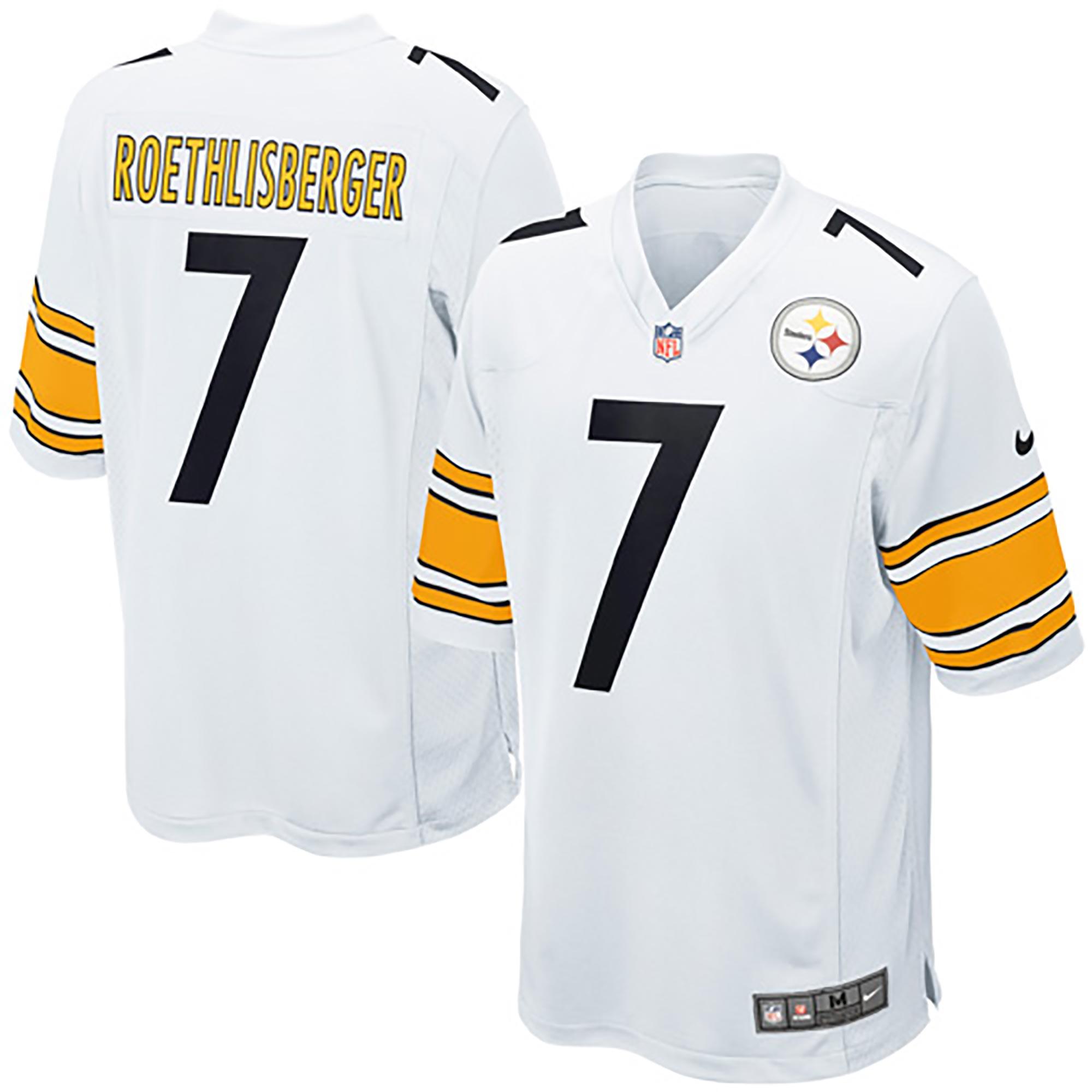 Pittsburgh Steelers Auswärtstrikot – Ben Roethlisberger – Herren