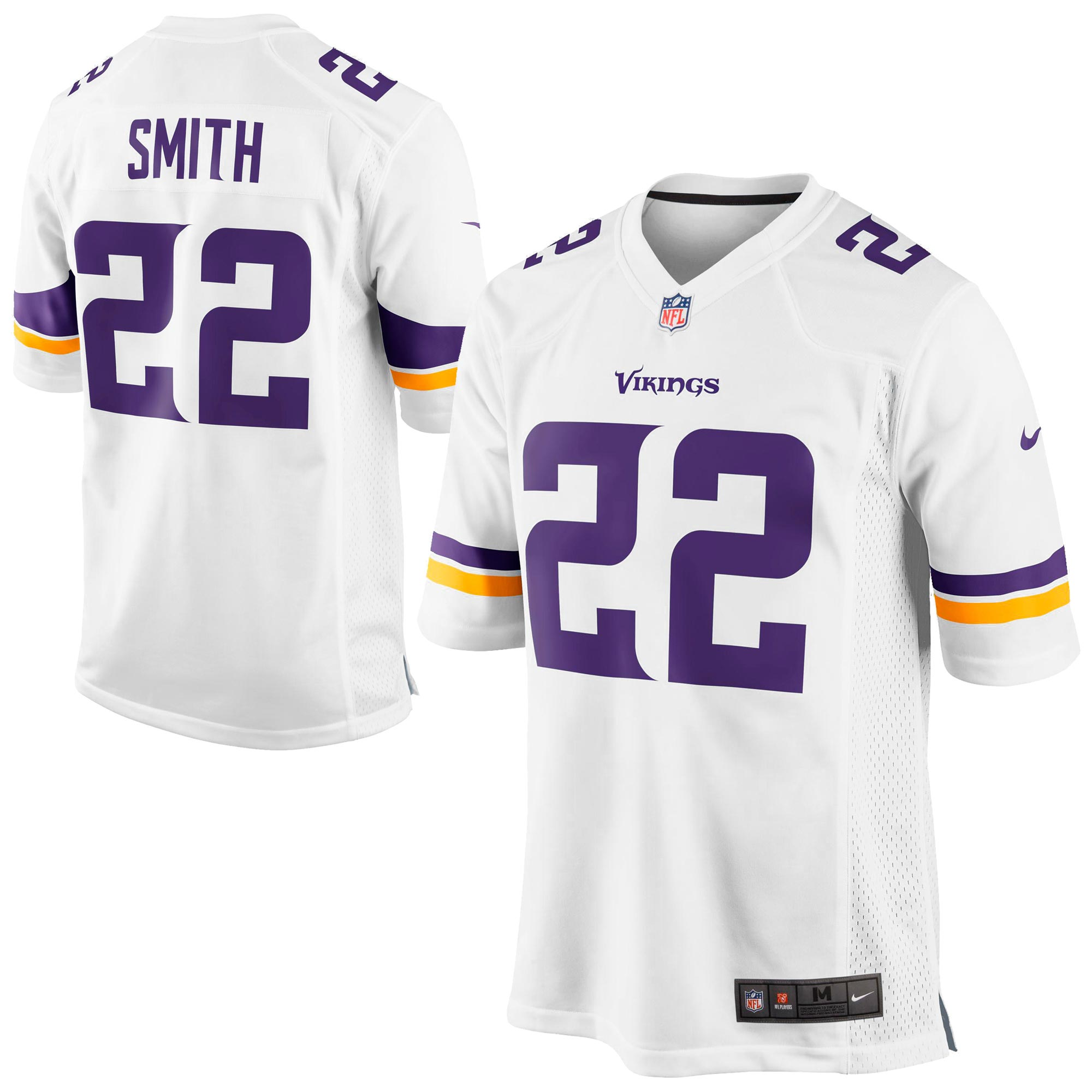Minnesota Vikings Auswärtstrikot – Harrison Smith – Herren