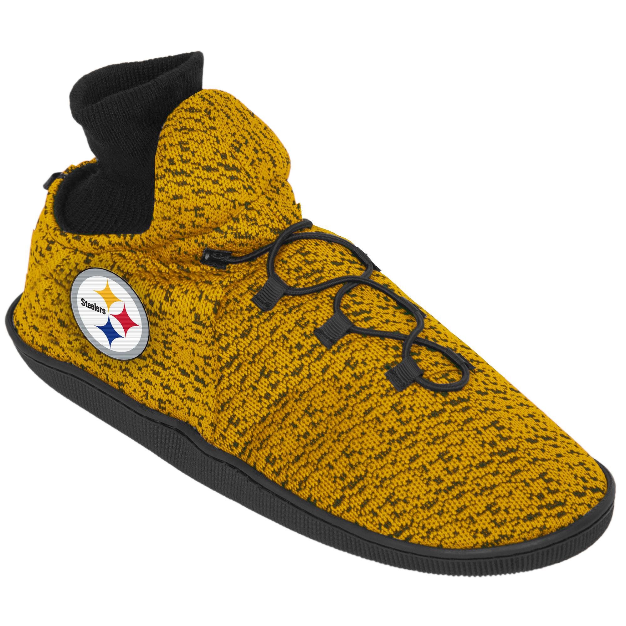 Pittsburgh Steelers Sneaker-Slippers aus Polyester-Strick – Herren