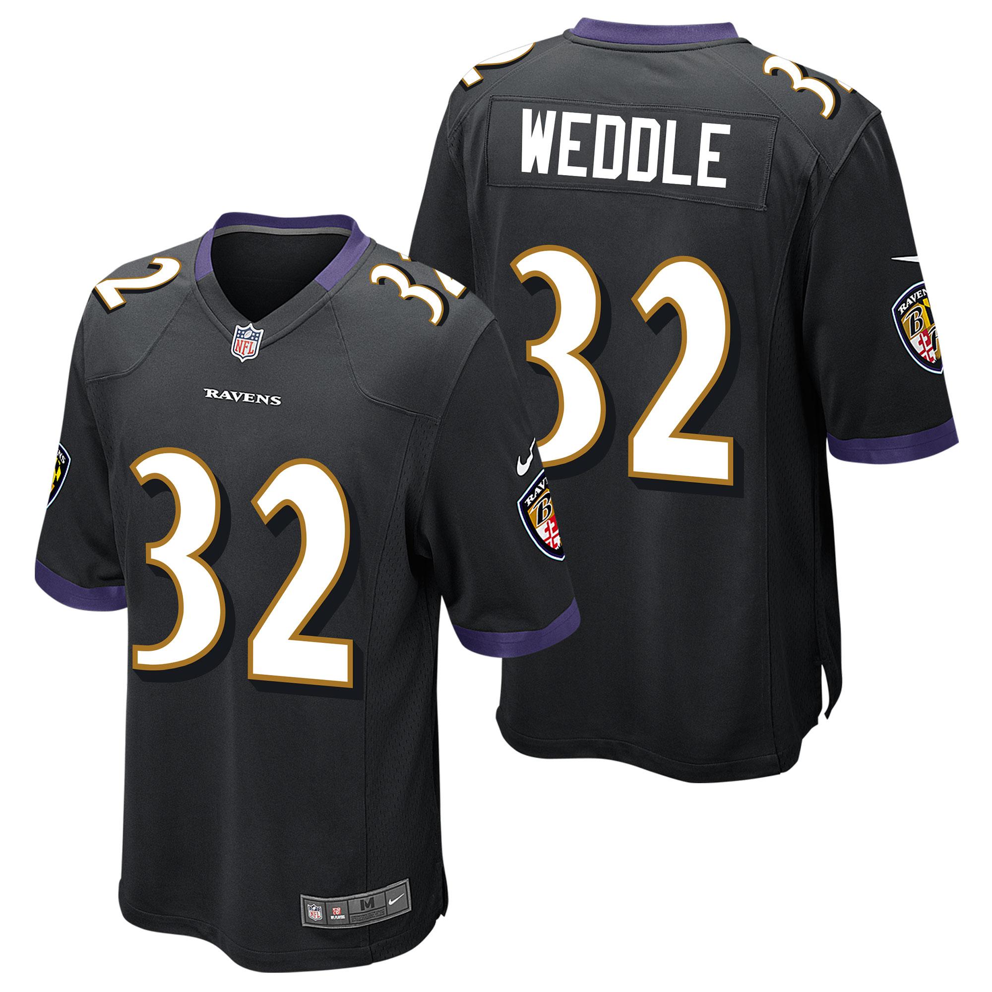 Baltimore Ravens Ausweichtrikot - Eric Weddle - Jugendliche