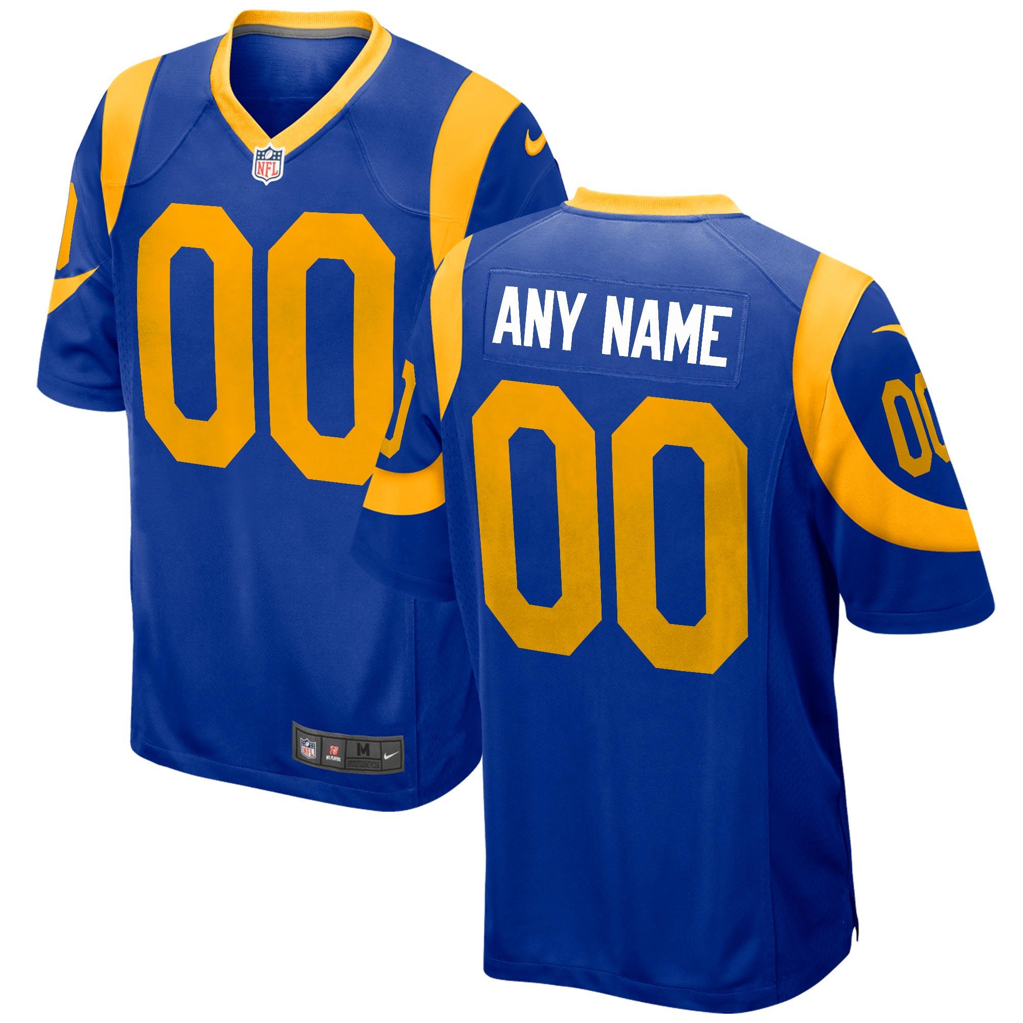 Los Angeles Rams Ausweichtrikot - maßgeschneidert - Jugendliche