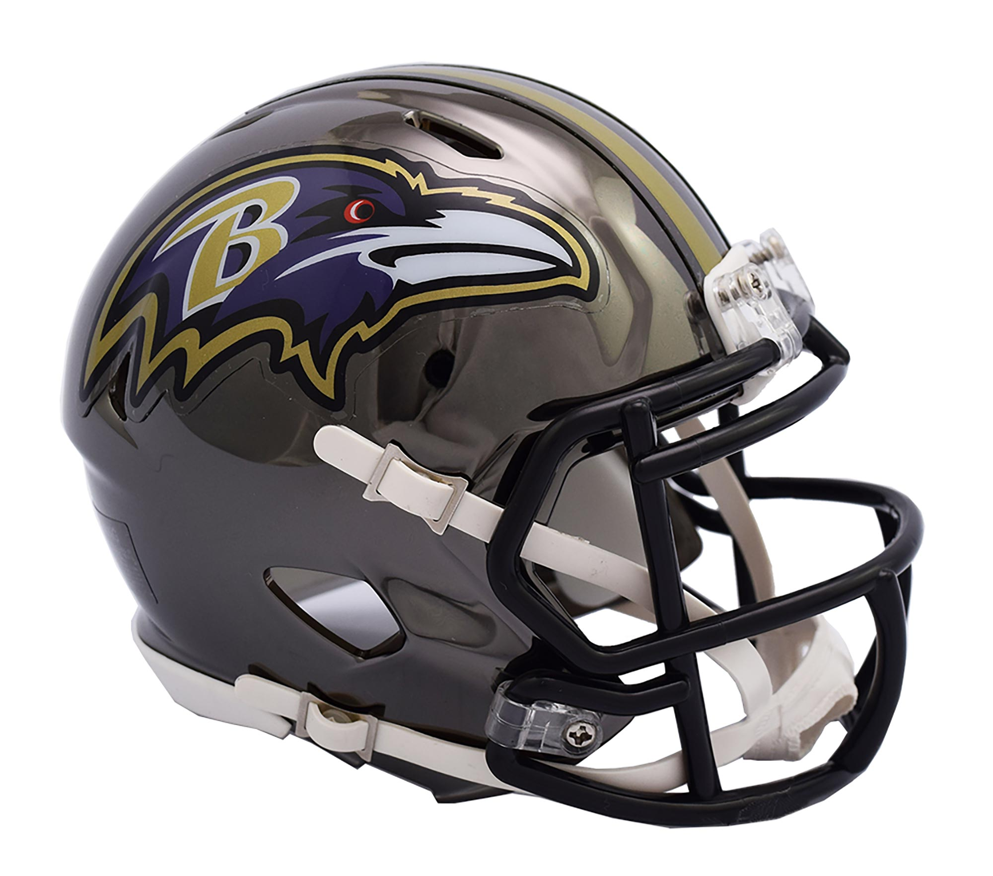 Baltimore Ravens Chrome Ausweich-Speed-Minihelm