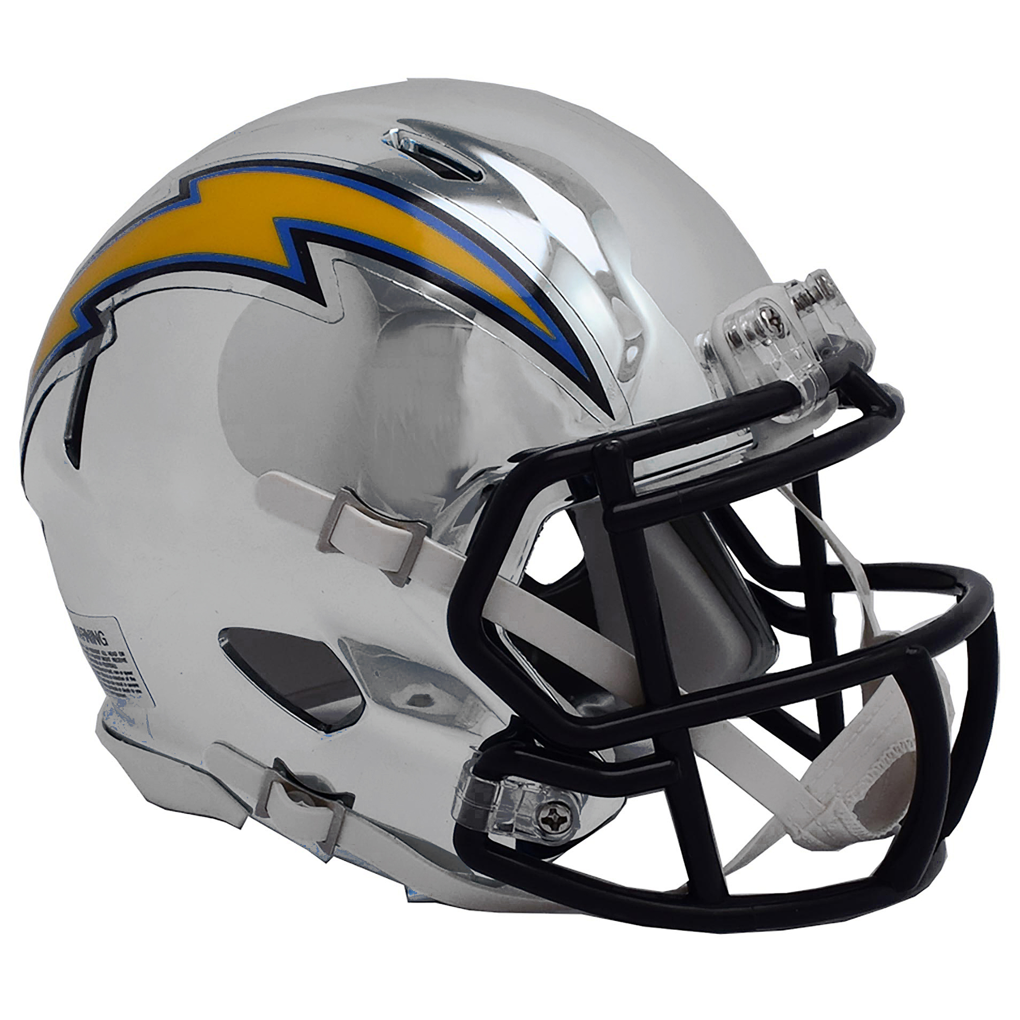 Los Angeles Chargers Chrome Ausweich-Speed-Minihelm