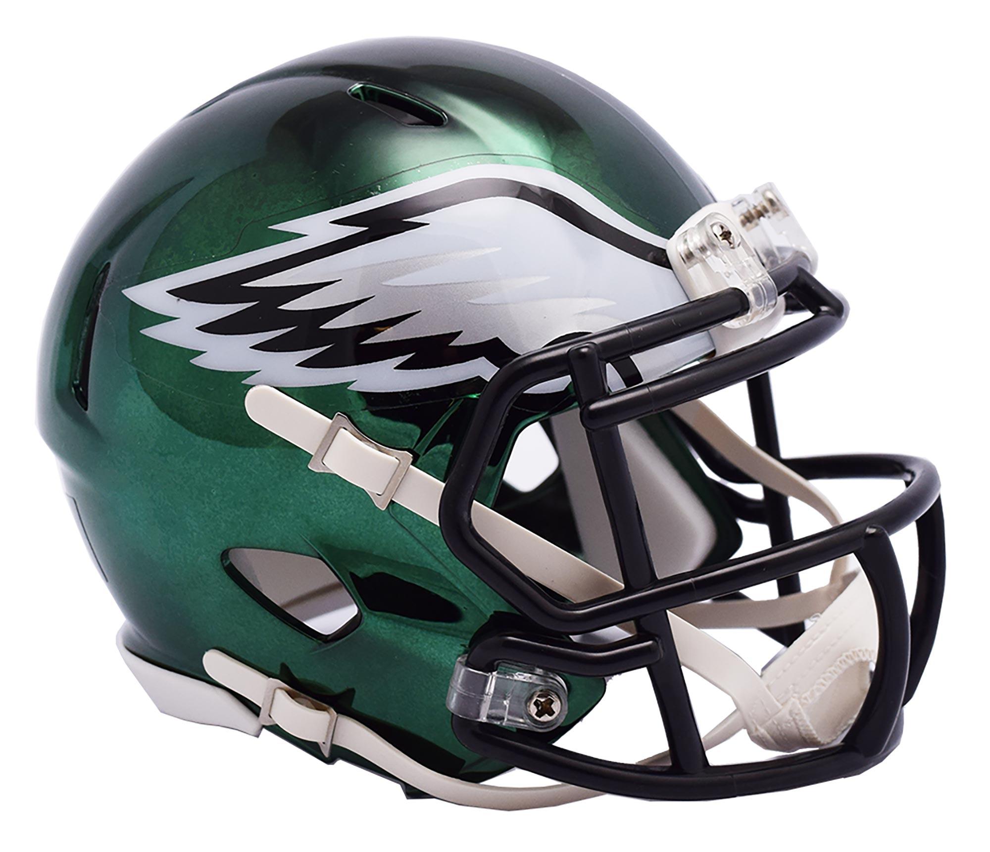 Philadelphia Eagles Chrome Ausweich-Speed-Minihelm