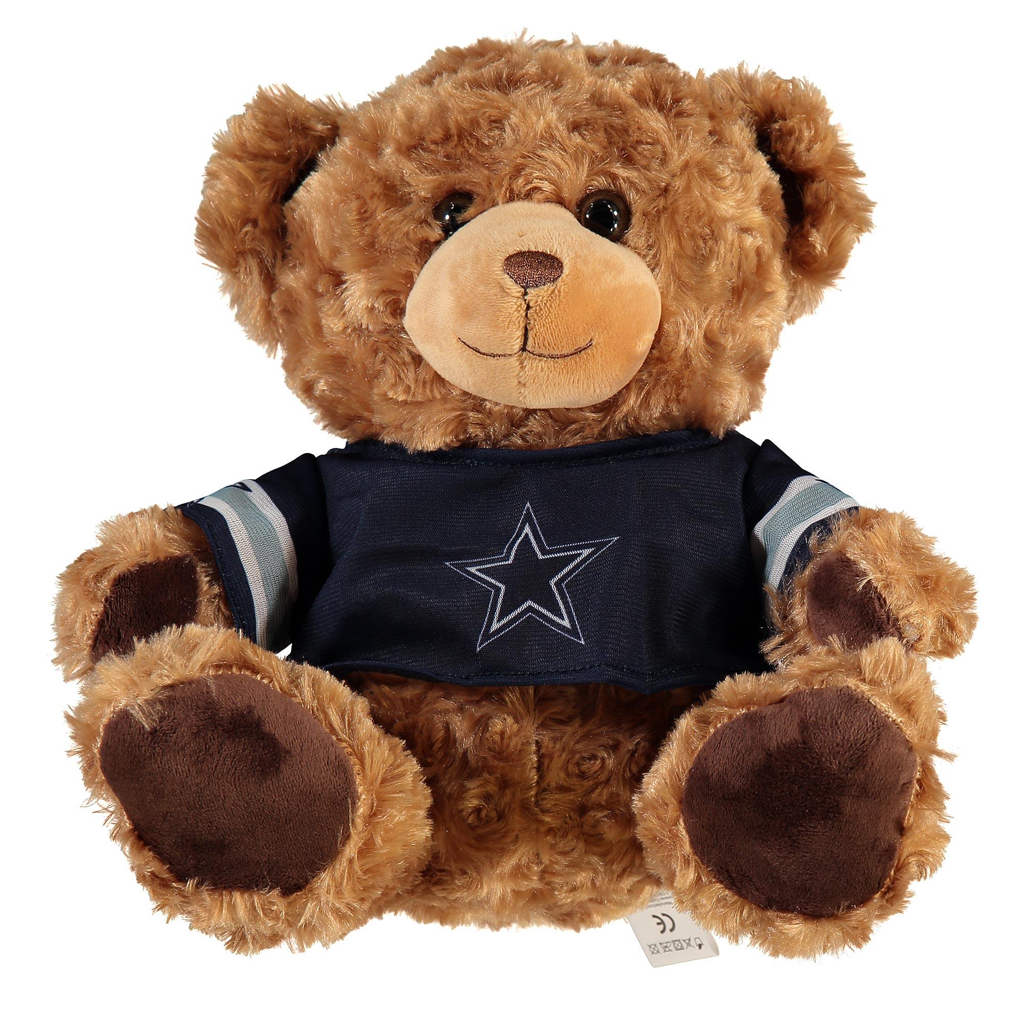 Dallas Cowboys 10 Inch Jersey Bear