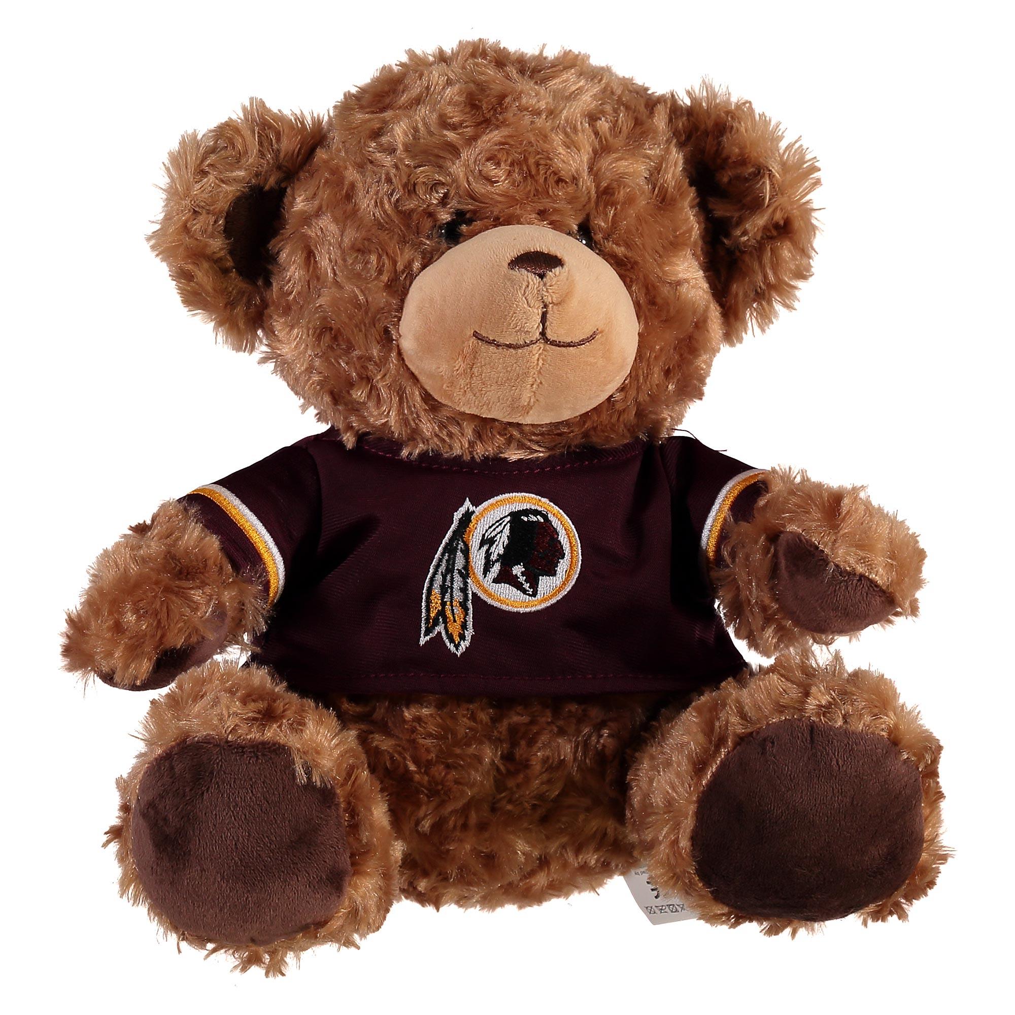 Washington Redskins 10 Inch Jersey Bear