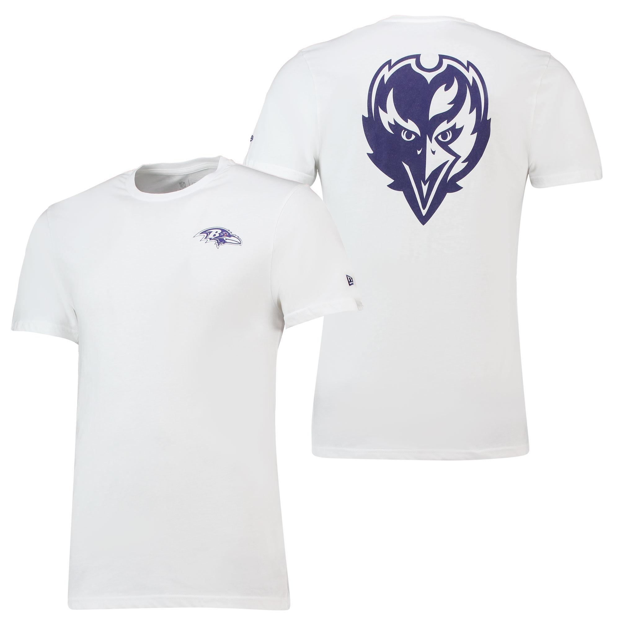Baltimore Ravens New Era Core Dual Logo T-Shirt - Herren