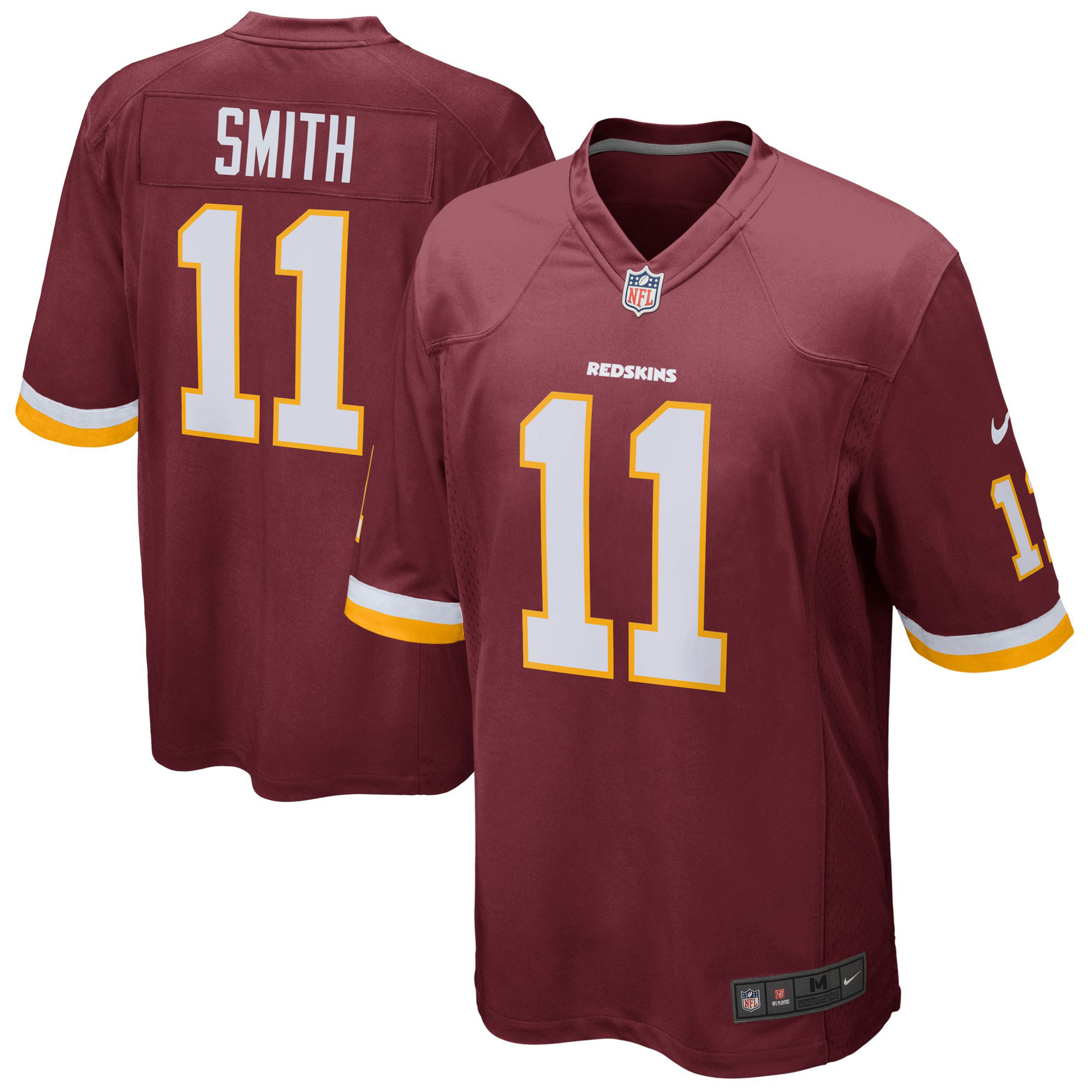 Washington Redskins Home Game Jersey - Alex Smith - Mens