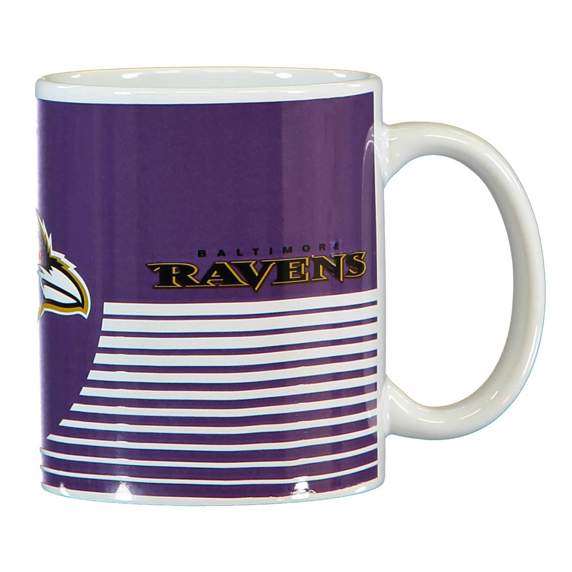 Baltimore Ravens Linear Mug