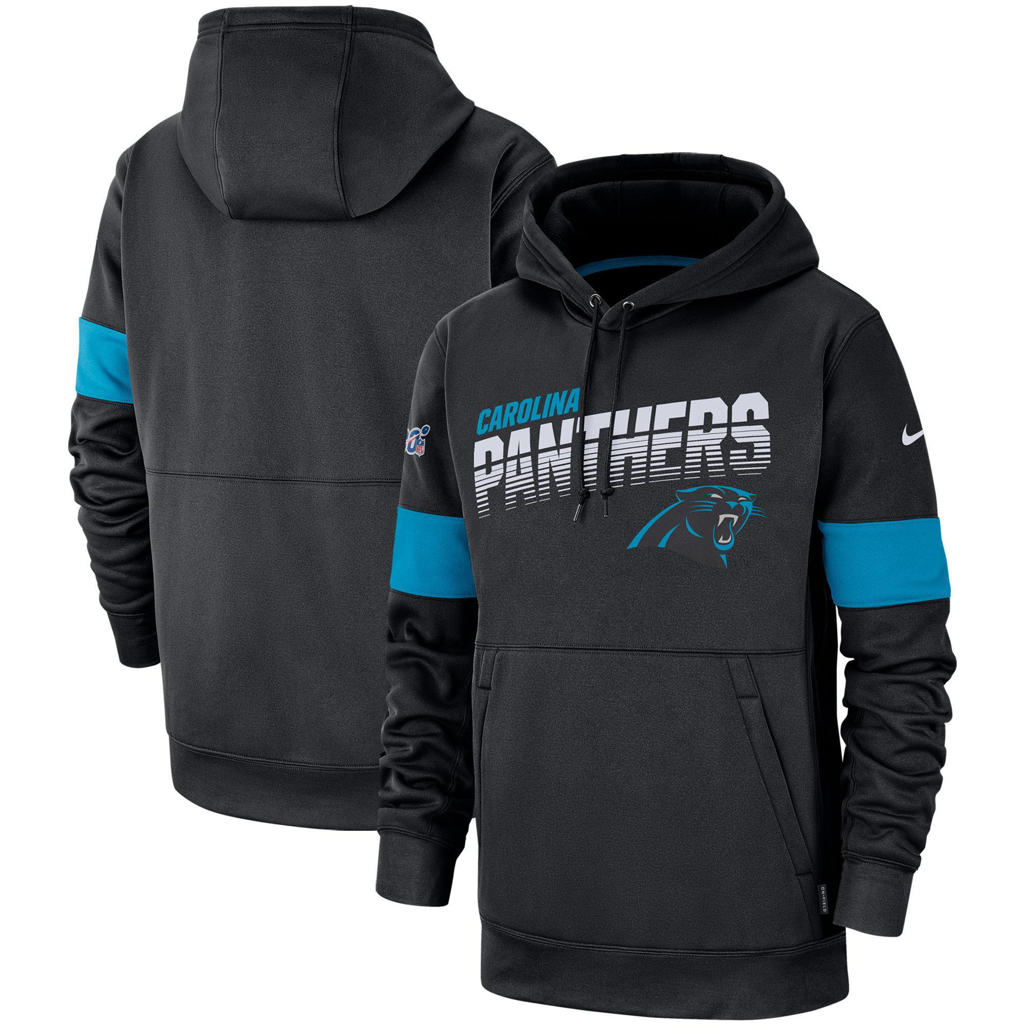 Carolina Panthers Nike Therma-Kapuzenpullover - Herren