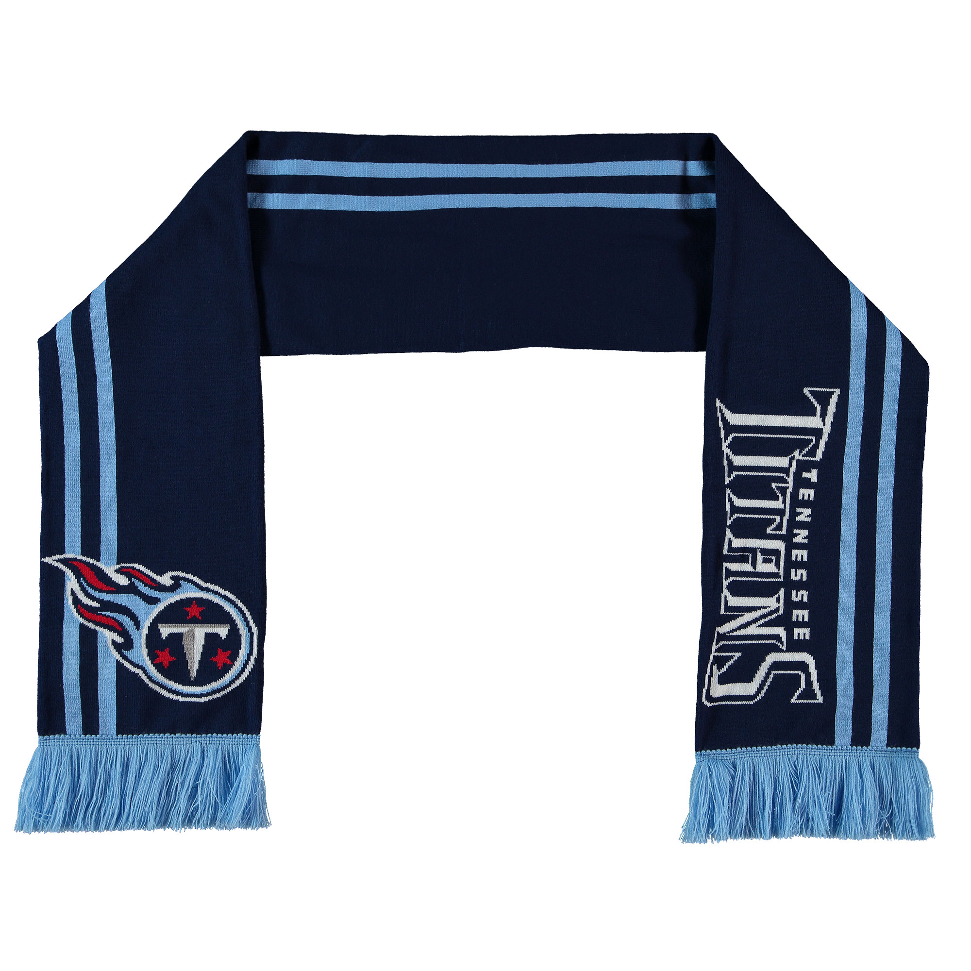 Tennessee Titans Iconic Fan Scarf - Navy - Adult