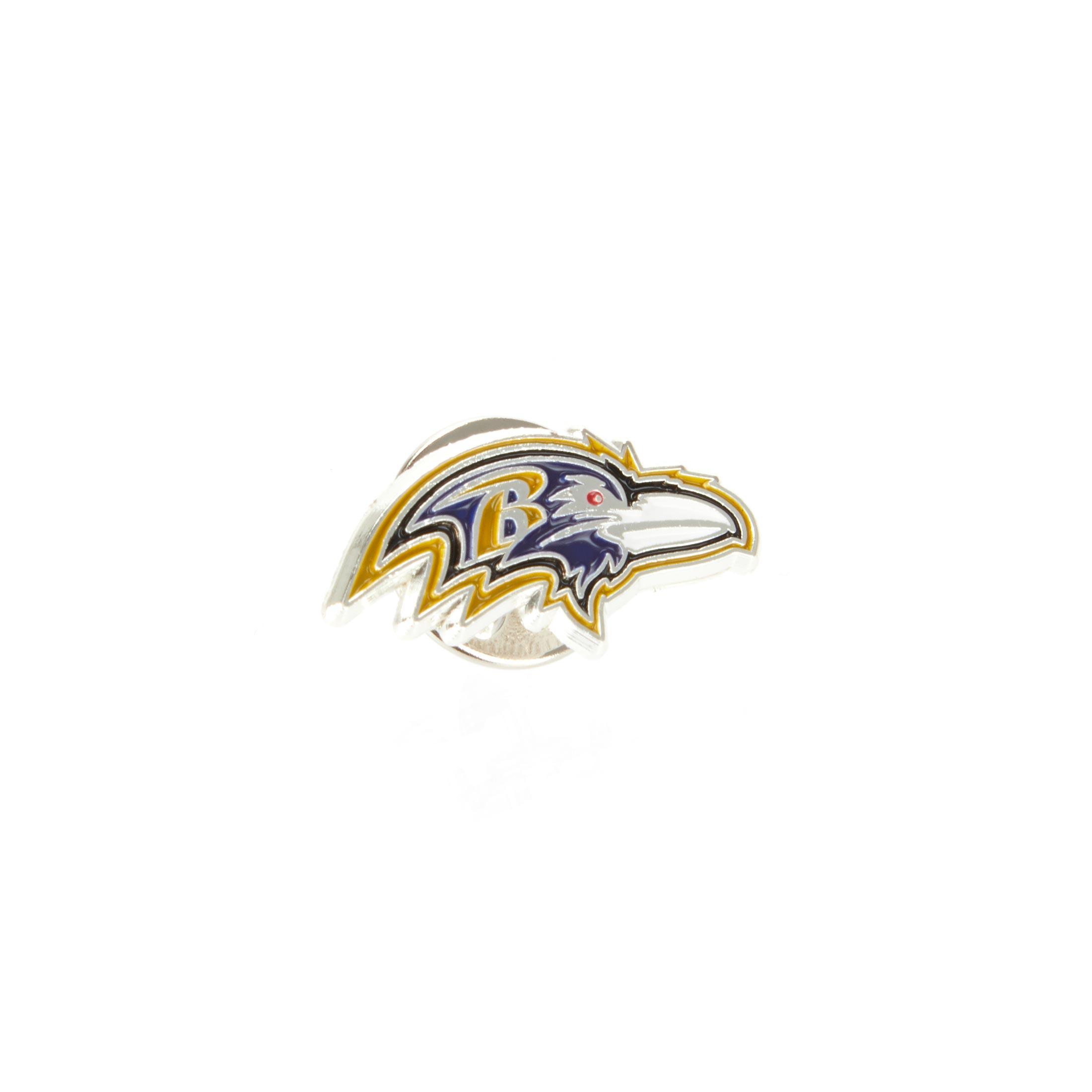 Baltimore Ravens Logo Pin Badge