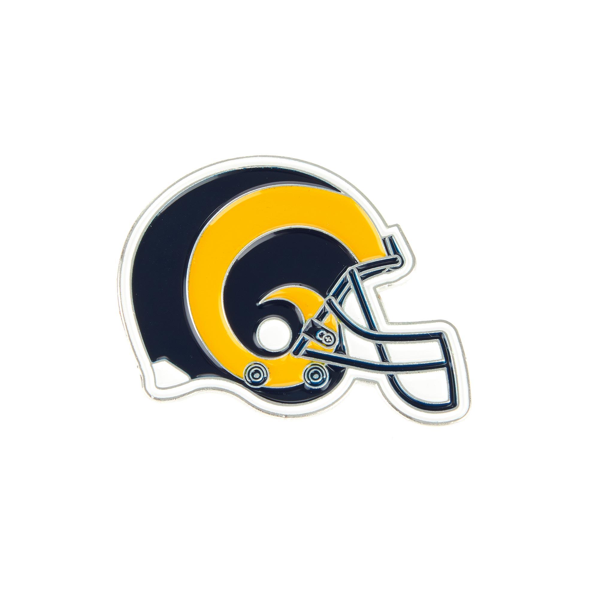 Los Angeles Rams Helmet Pin Badge