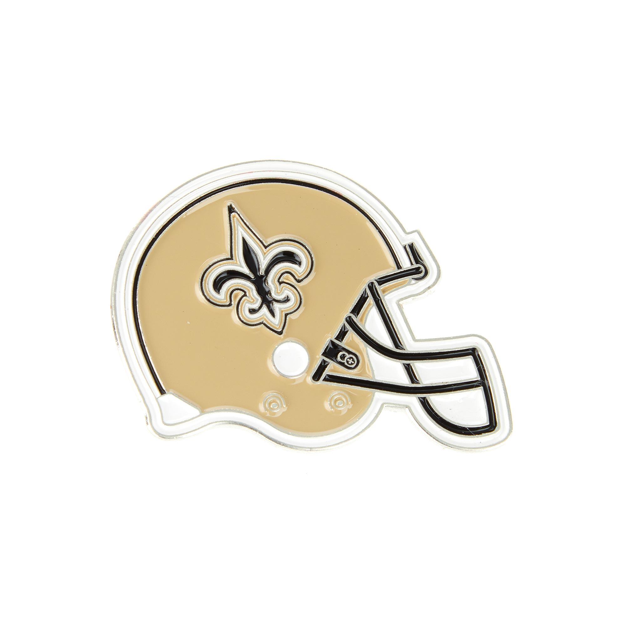 New Orleans Saints Helmet Pin Badge