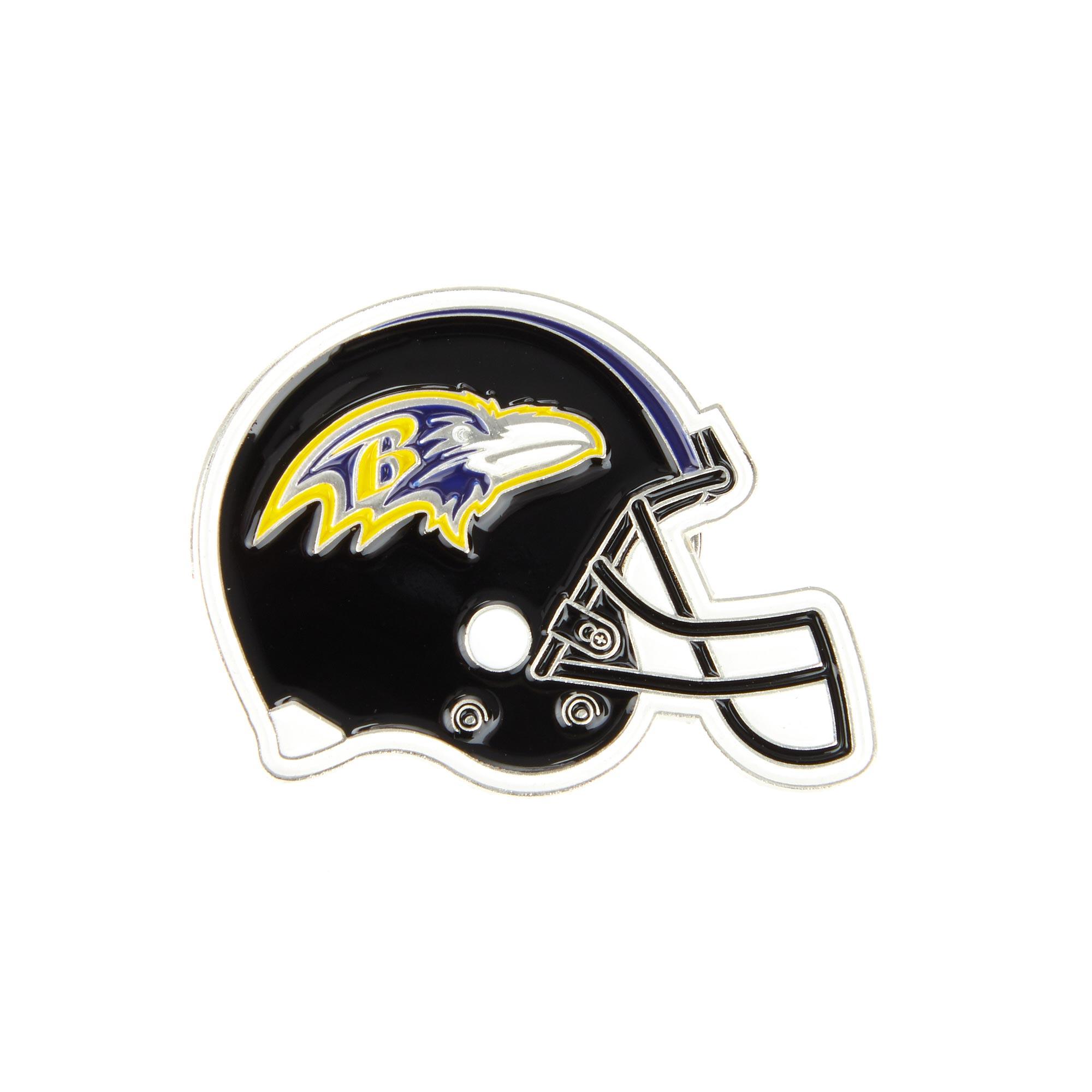Baltimore Ravens Helmet Pin Badge