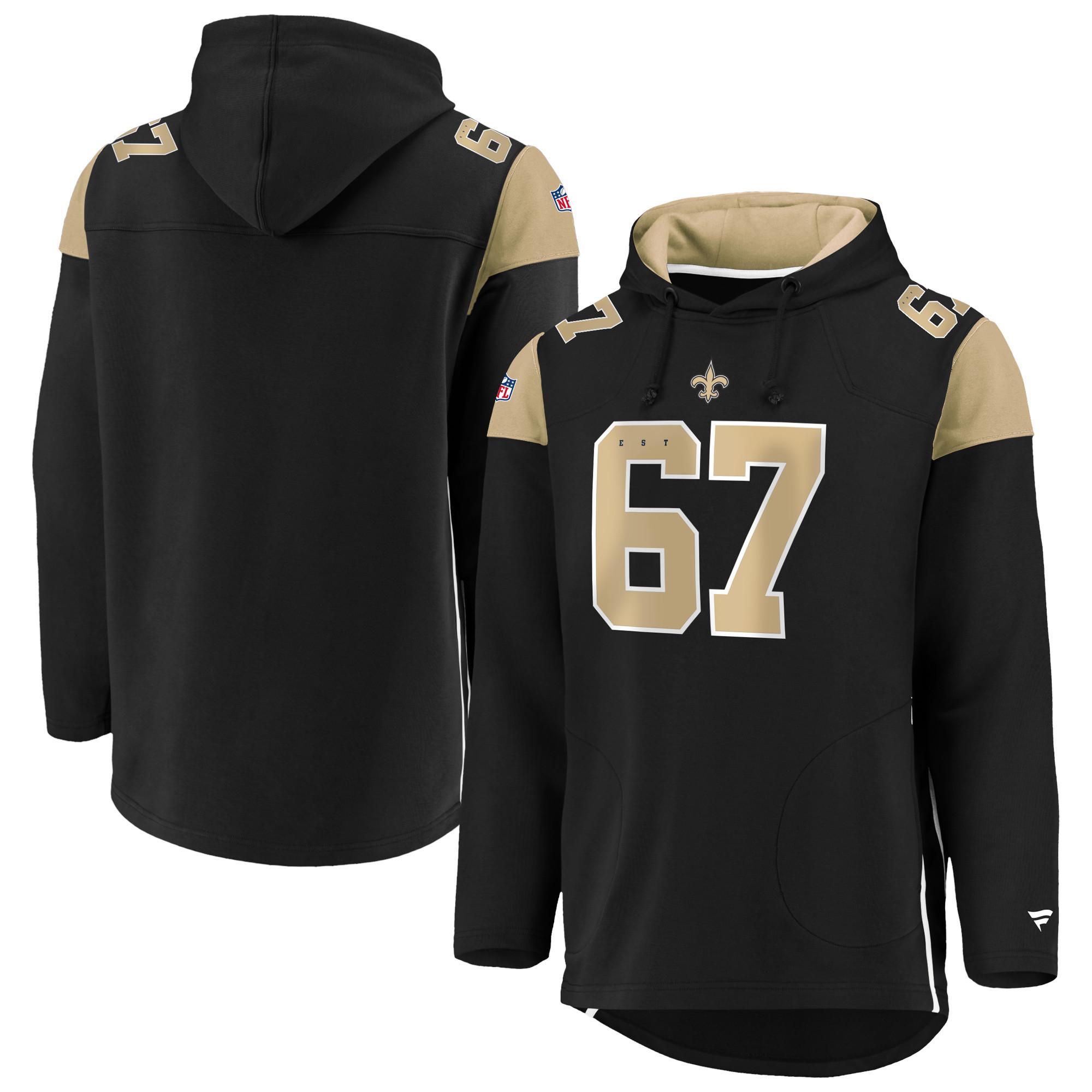 New Orleans Saints Franchise Hoodie - Black - Adult