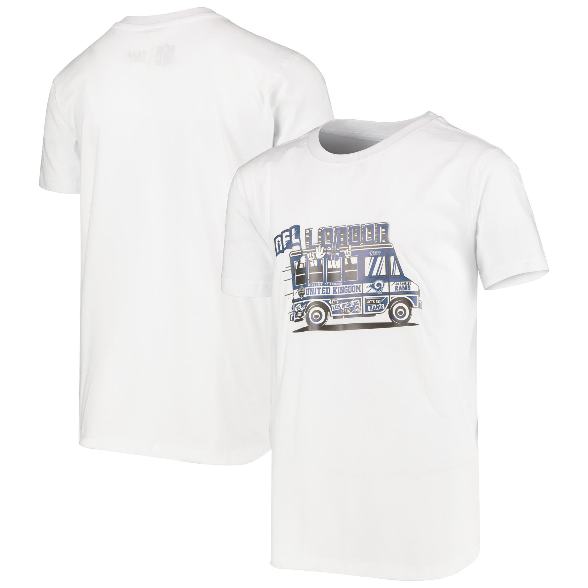 Los Angeles Rams Los Angeles Rams Bus T-Shirt - White - Kids