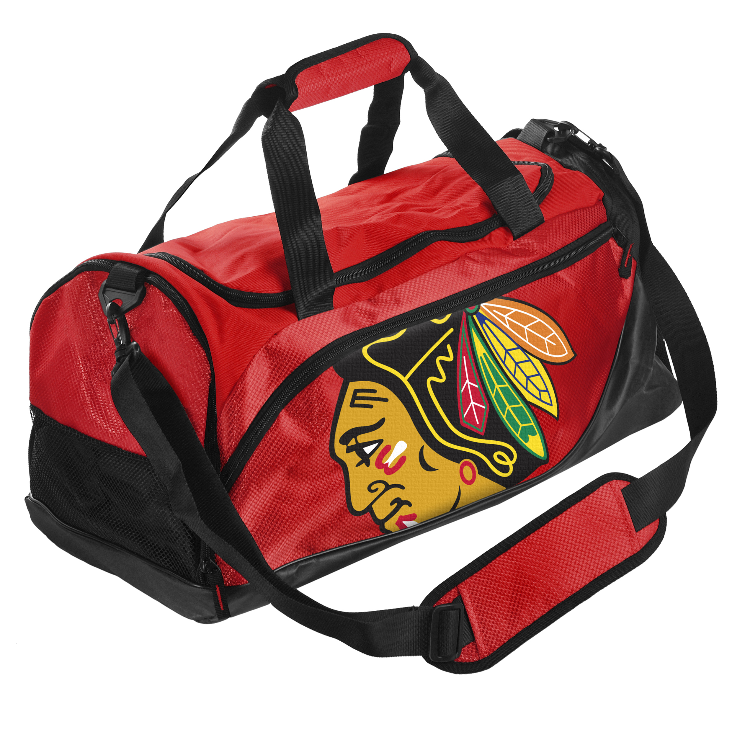 Chicago Blackhawks Locker Room Duffle Bag