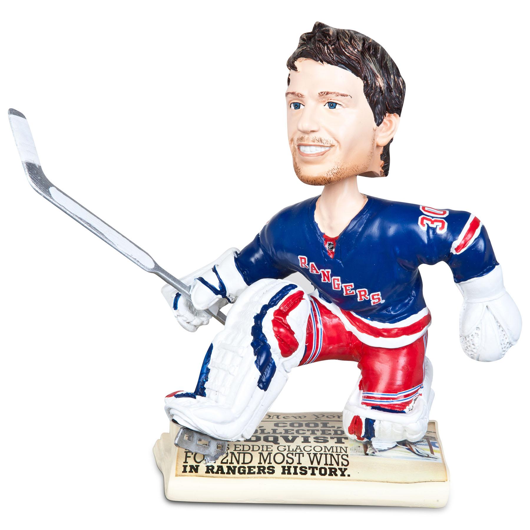 New York Rangers Henrik Lundqvist 30 Bobblehead
