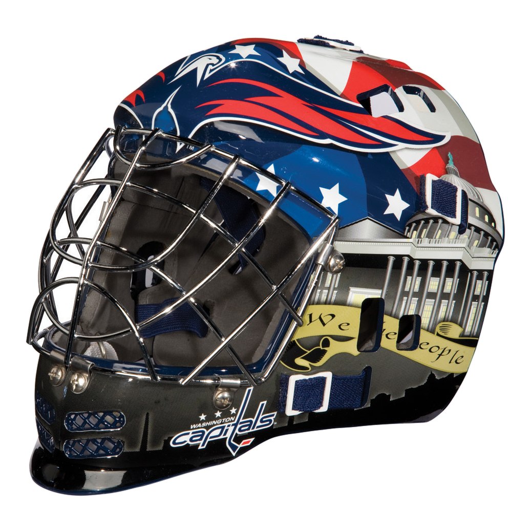 Washington Capitals NHL Team Series Mini Goalie Mask