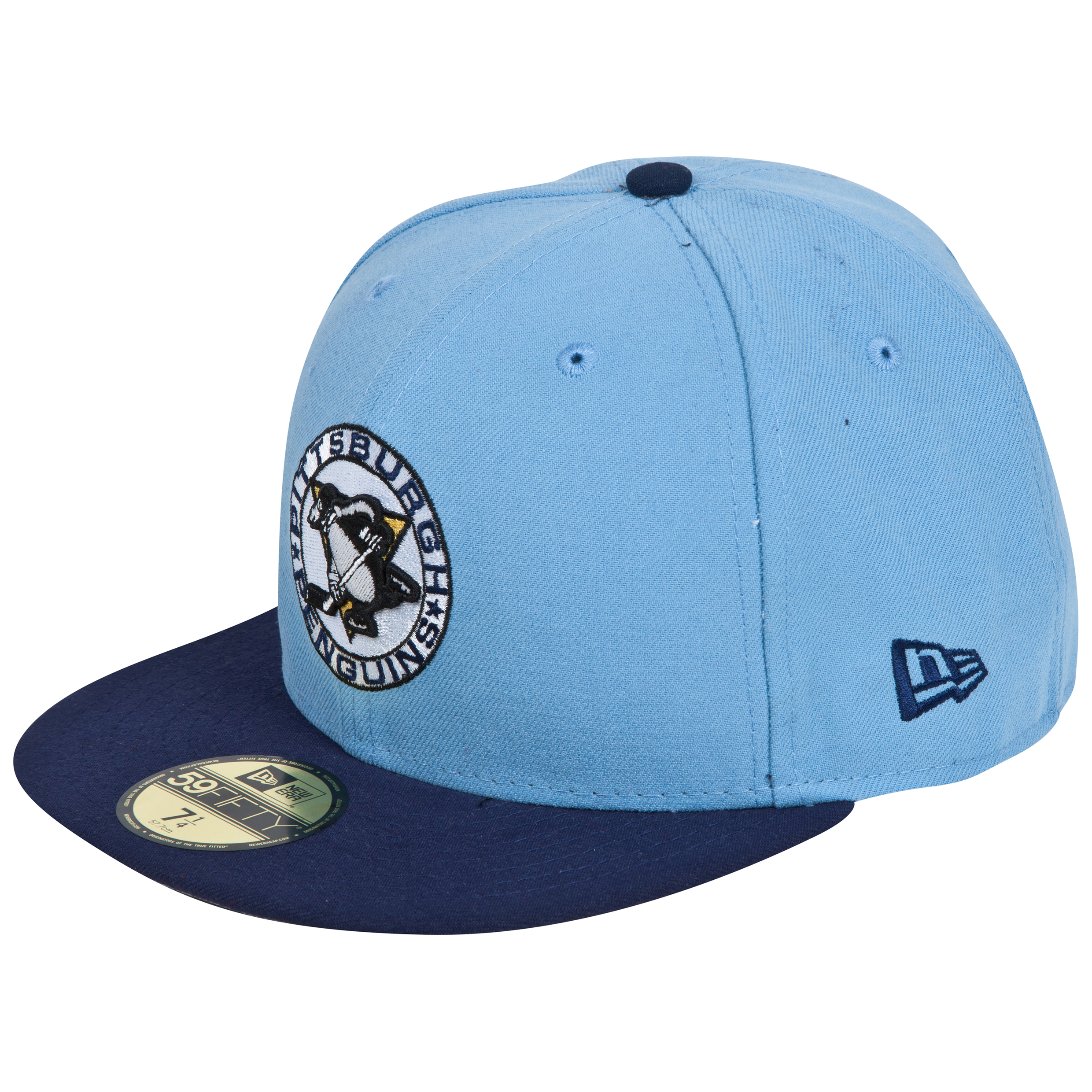 Pittsburgh Penguins New Era 59FIFTY Patched Team Redux Fitted Cap