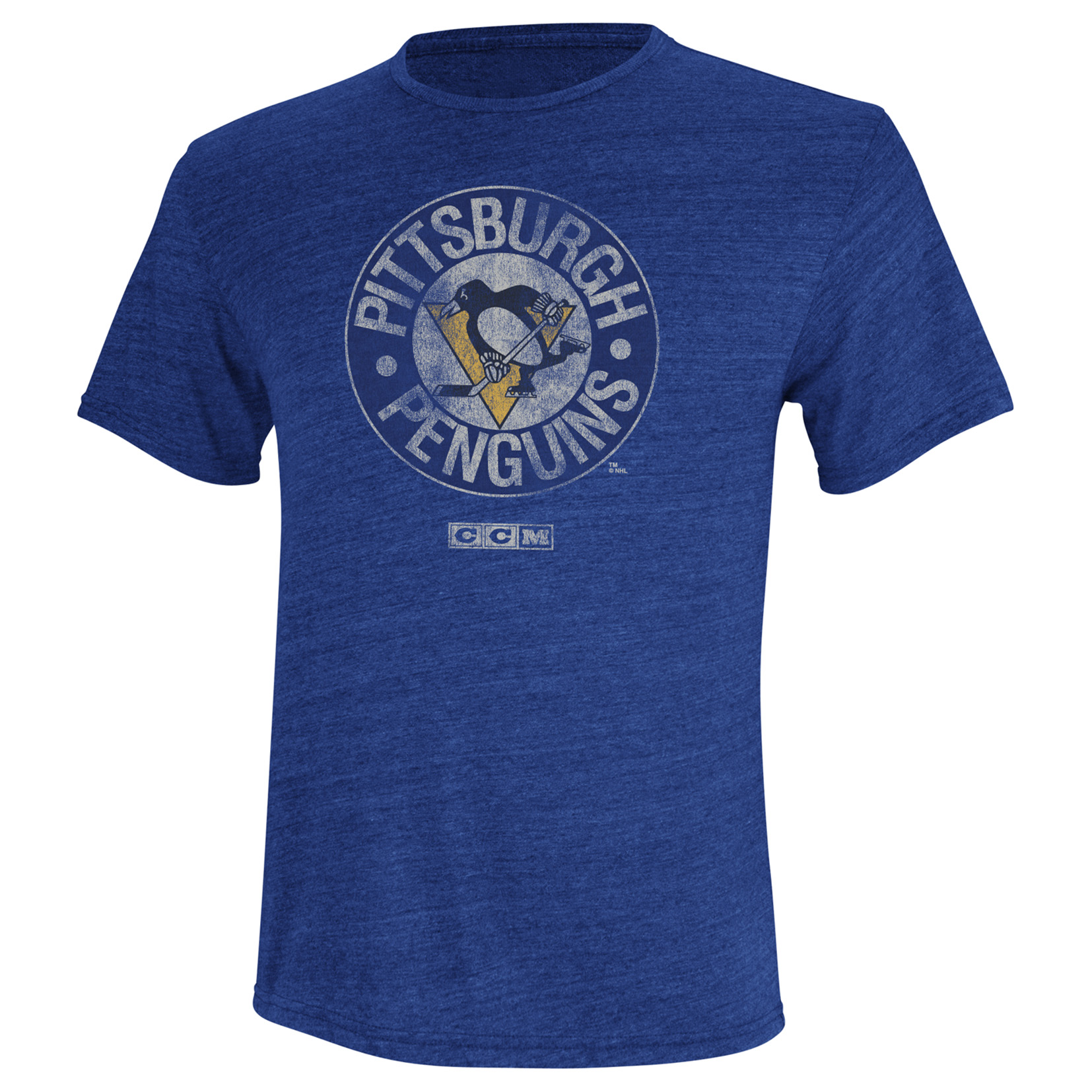 Pittsburgh Penguins CCM Retro Logo T-Shirt