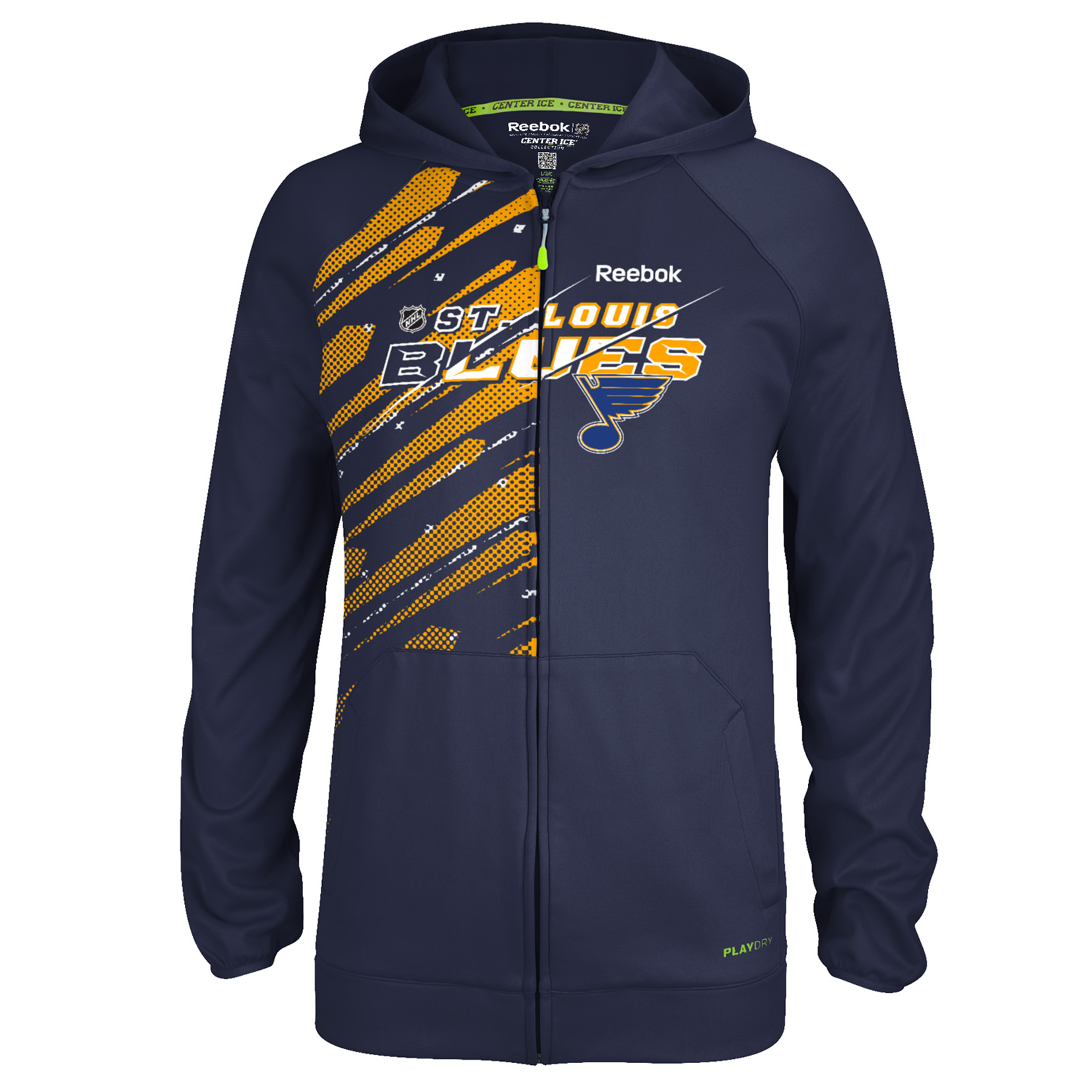 St. Louis Blues Centre Ice TNT Full Zip Hoodie