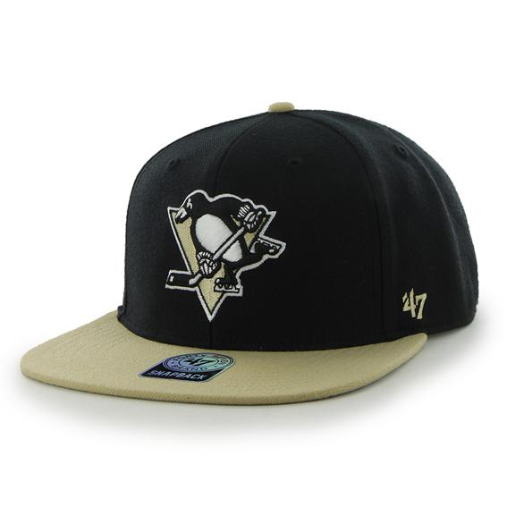 Pittsburgh Penguins Sure Shot Two Tone Snapback Cap