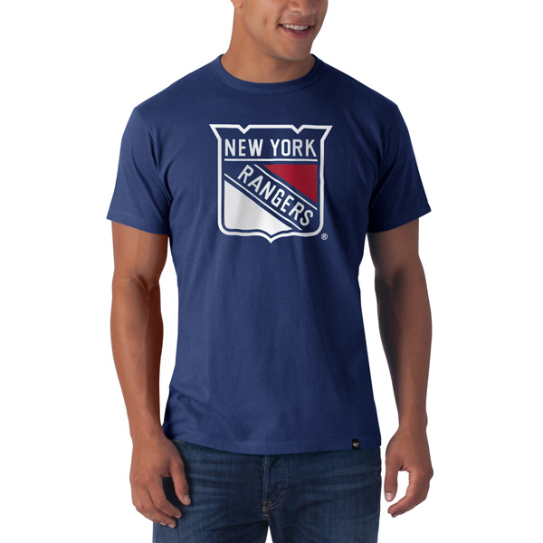 New York Rangers Frozen Rope T-Shirt