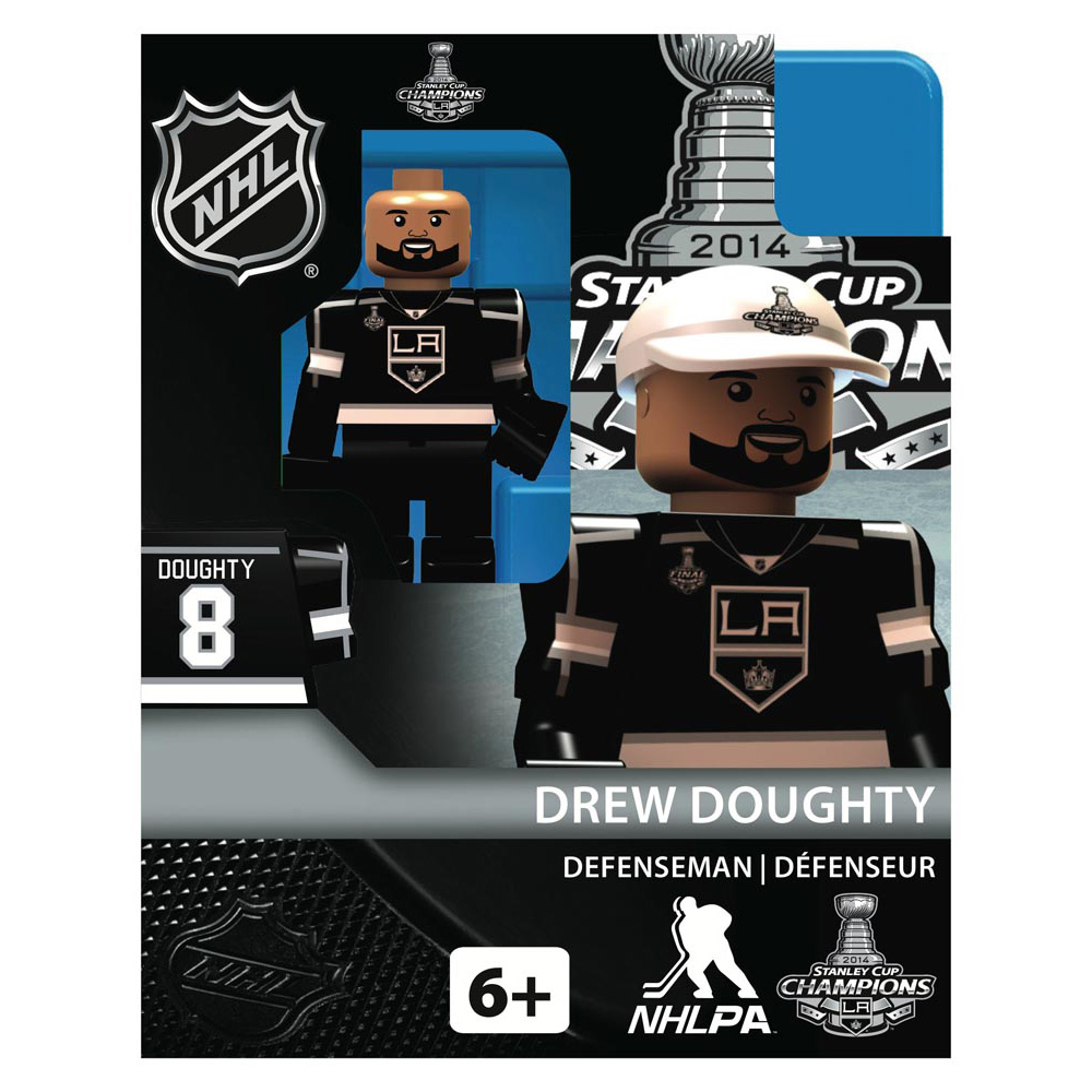 Los Angeles Kings Stanley Cup Champions 2014 Limited Edition OYO Minifigure - Drew Doughty