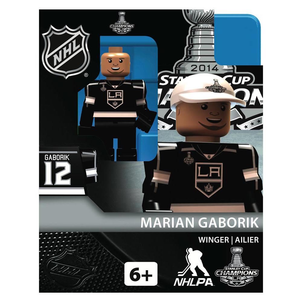 Los Angeles Kings Stanley Cup Champions 2014 Limited Edition OYO Minifigure - Marian Gaborik