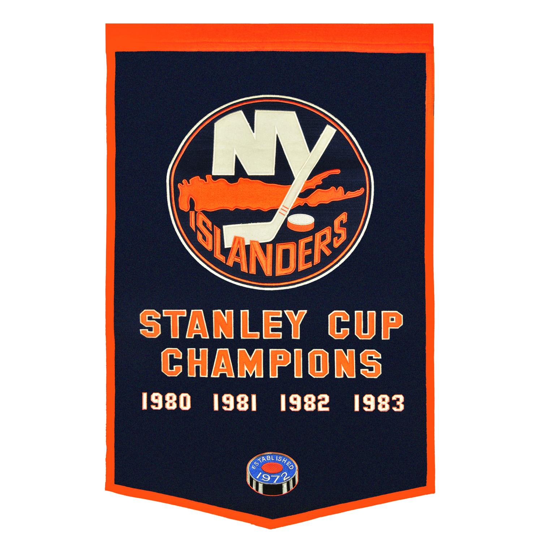 New York Islanders Dynasty Banner
