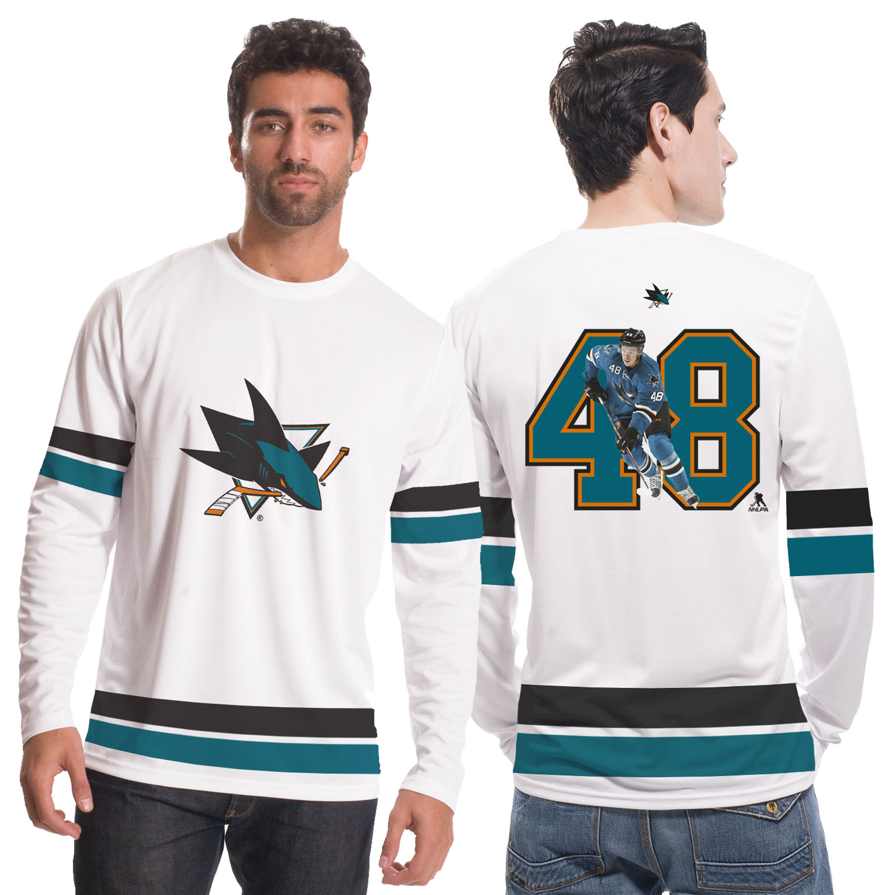 San Jose Sharks NHL Scrimmage Supporters Top - Thomas Hertl