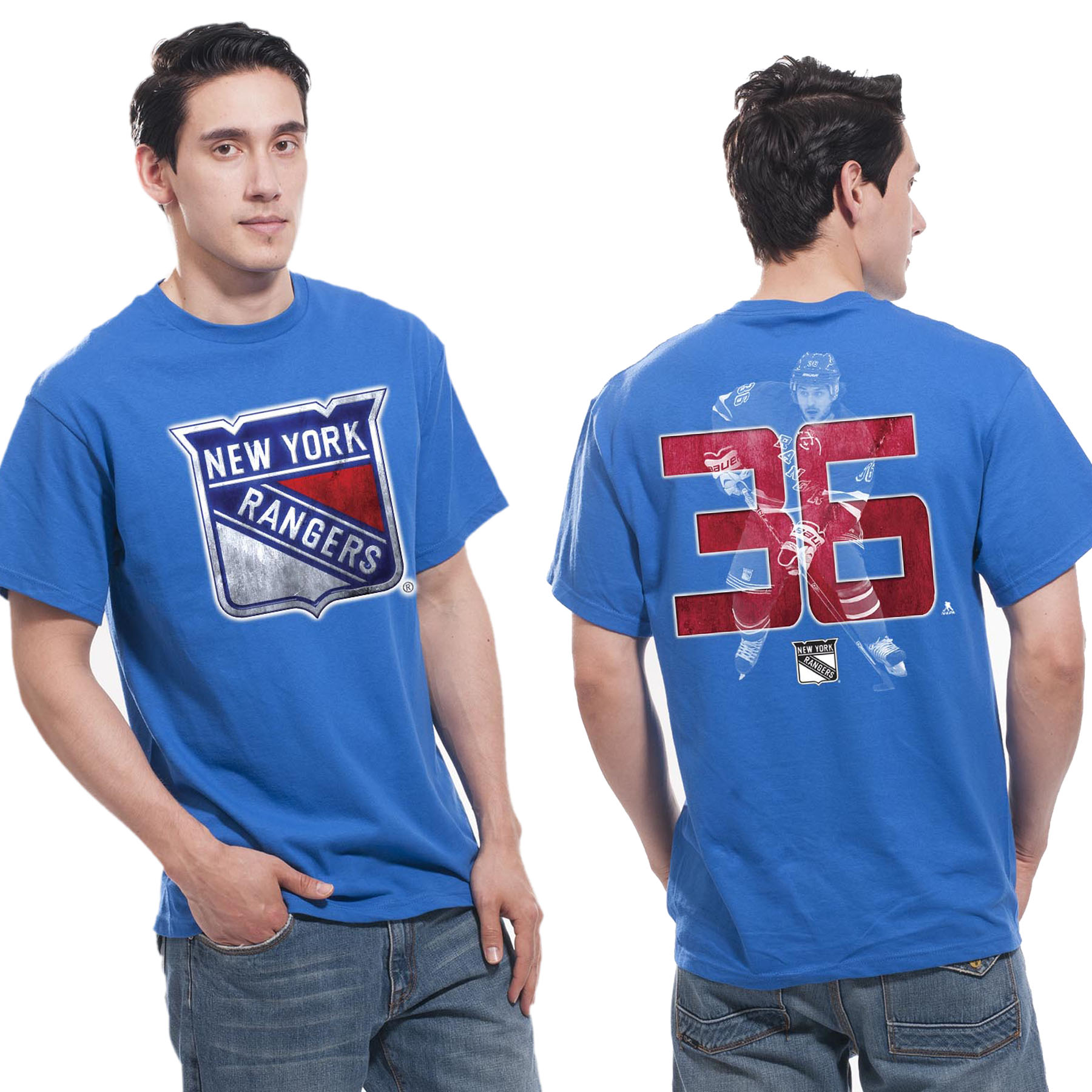 New York Rangers Lightspeed T-Shirt - Mats Zuccarello