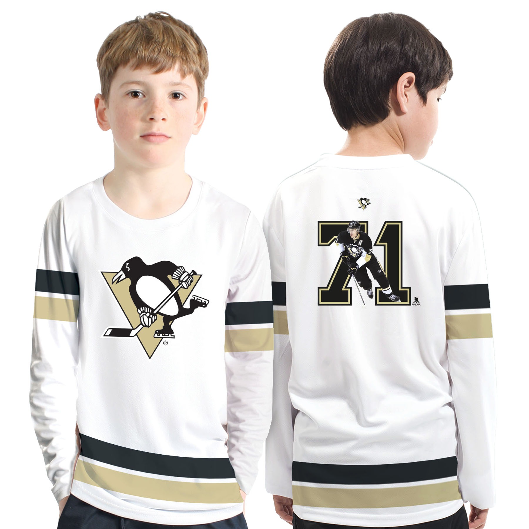 Pittsburgh Penguins NHL Scrimmage Supporters Top - Evgeni Malkin - Kids