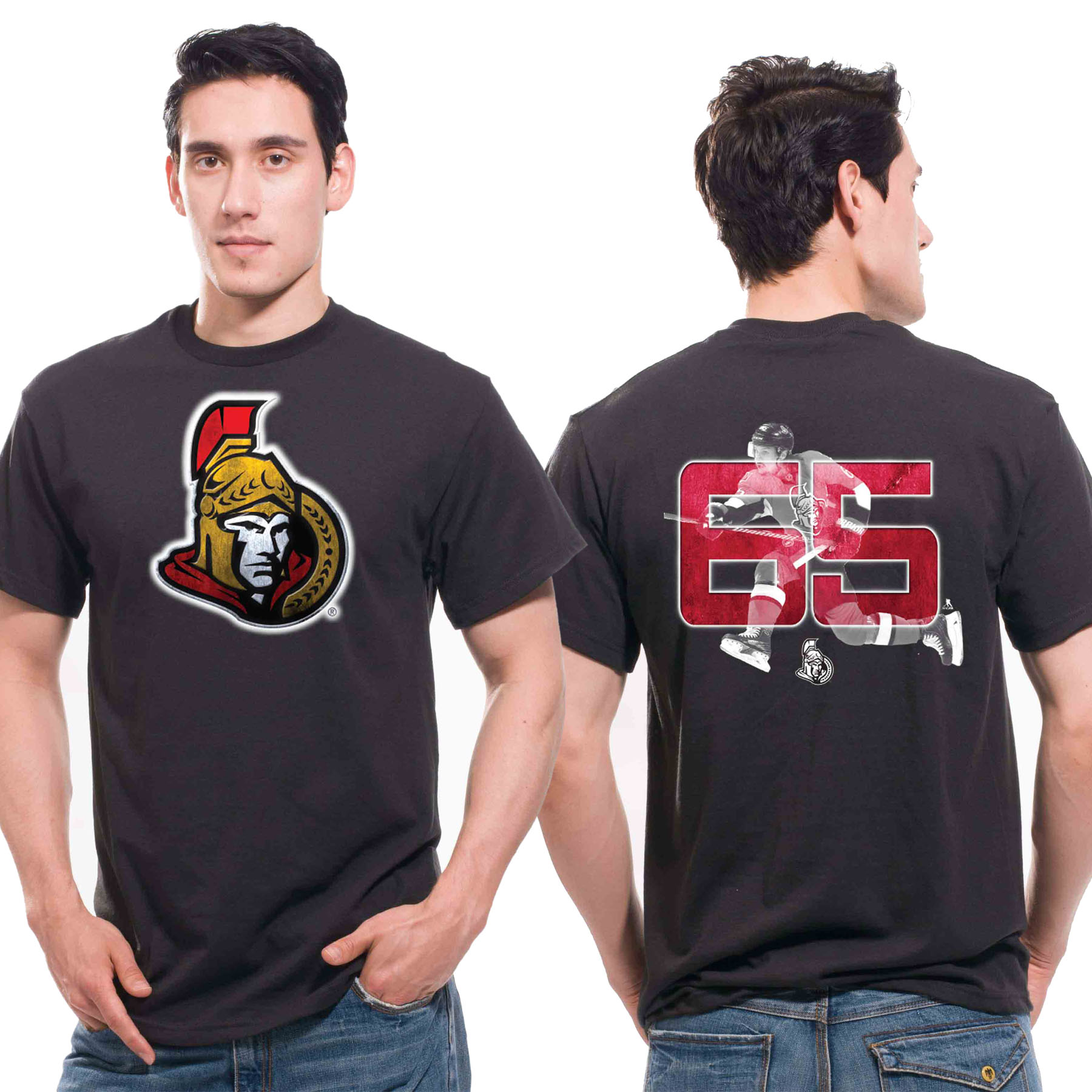 Ottawa Senators Lightspeed T-Shirt - Erik Karlsson
