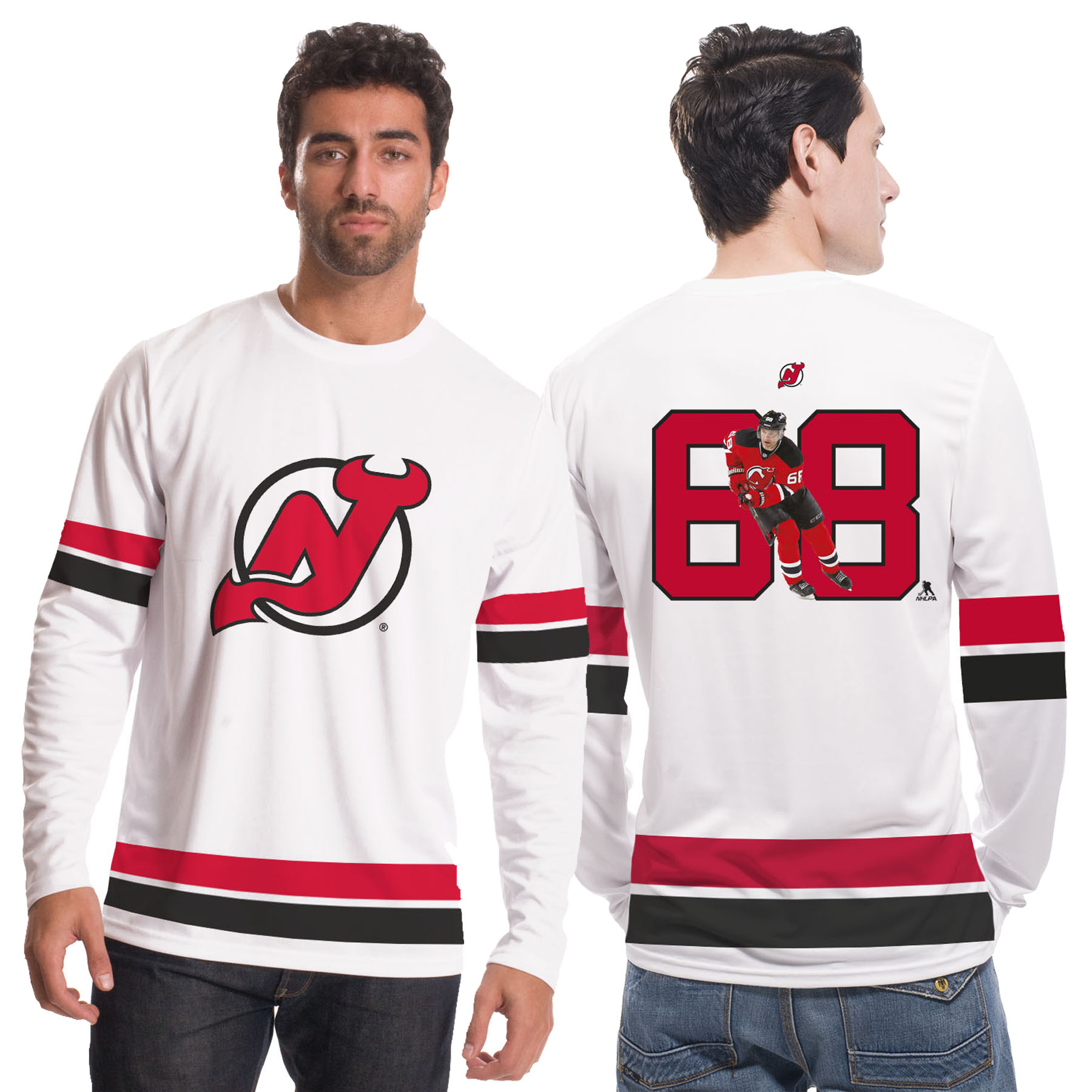 New Jersey Devils NHL Scrimmage Supporters Top - Jaromir Jagr