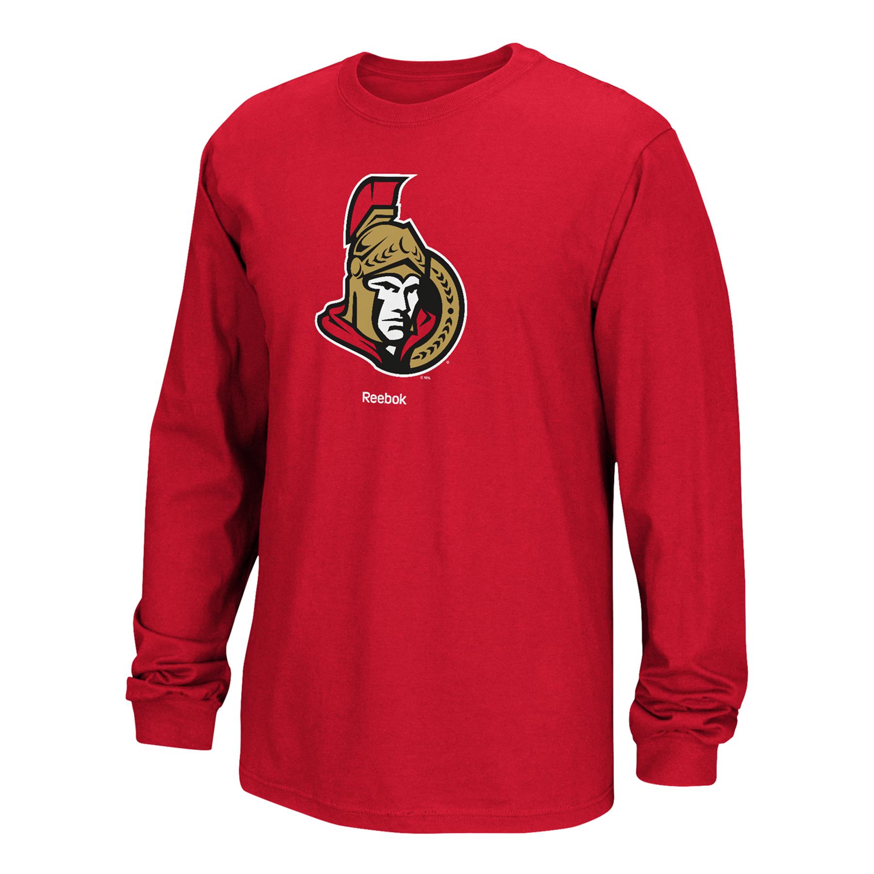 Ottawa Senators Core Long Sleeve Logo T-Shirt